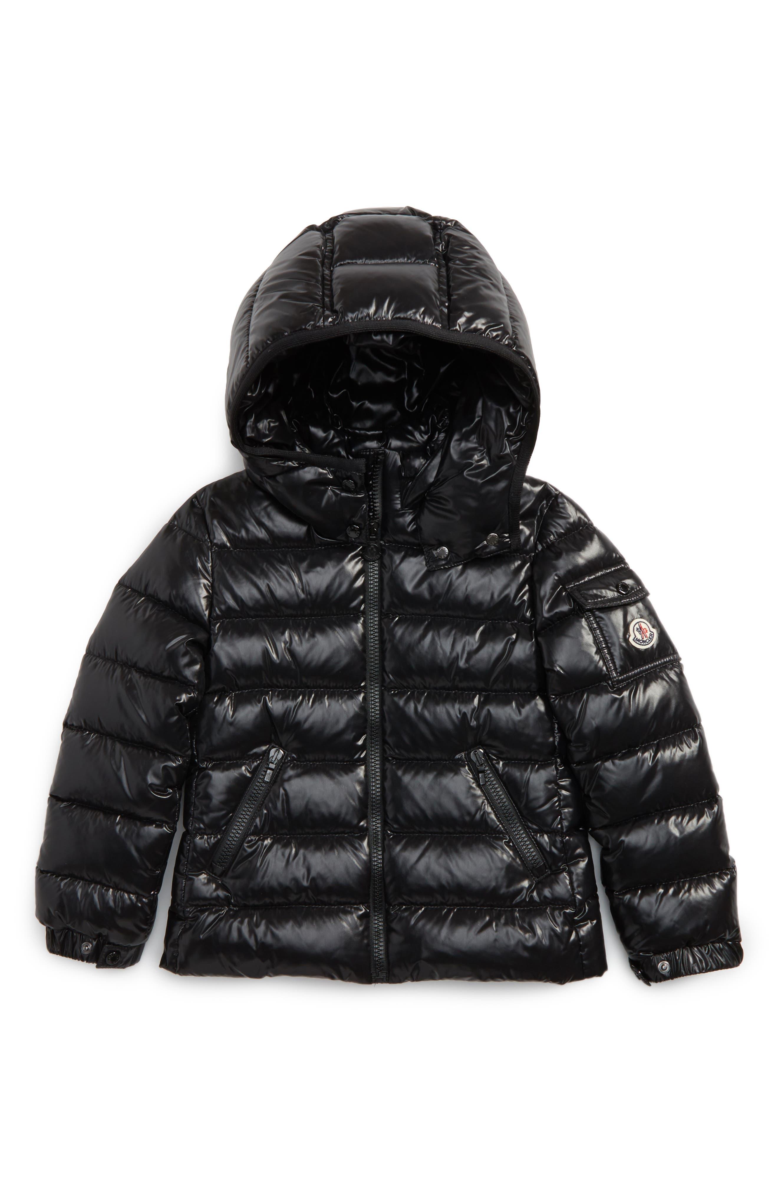 Main Image - Moncler Bady Hooded Down Jacket (Toddler Girls, Little Girls & Big Girls)