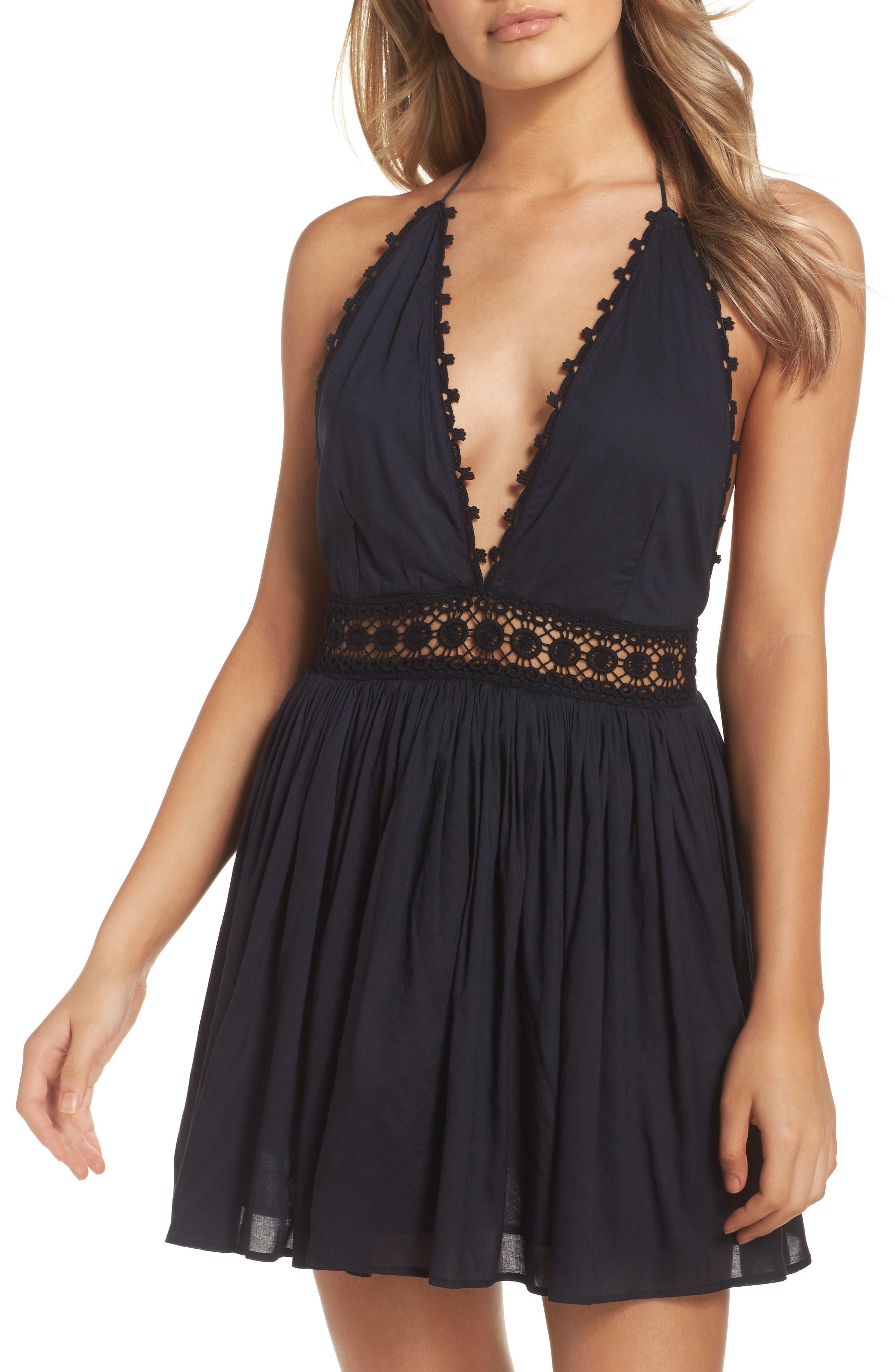 Celeste Cover-Up Dress,                         Main,                         color, Midnight