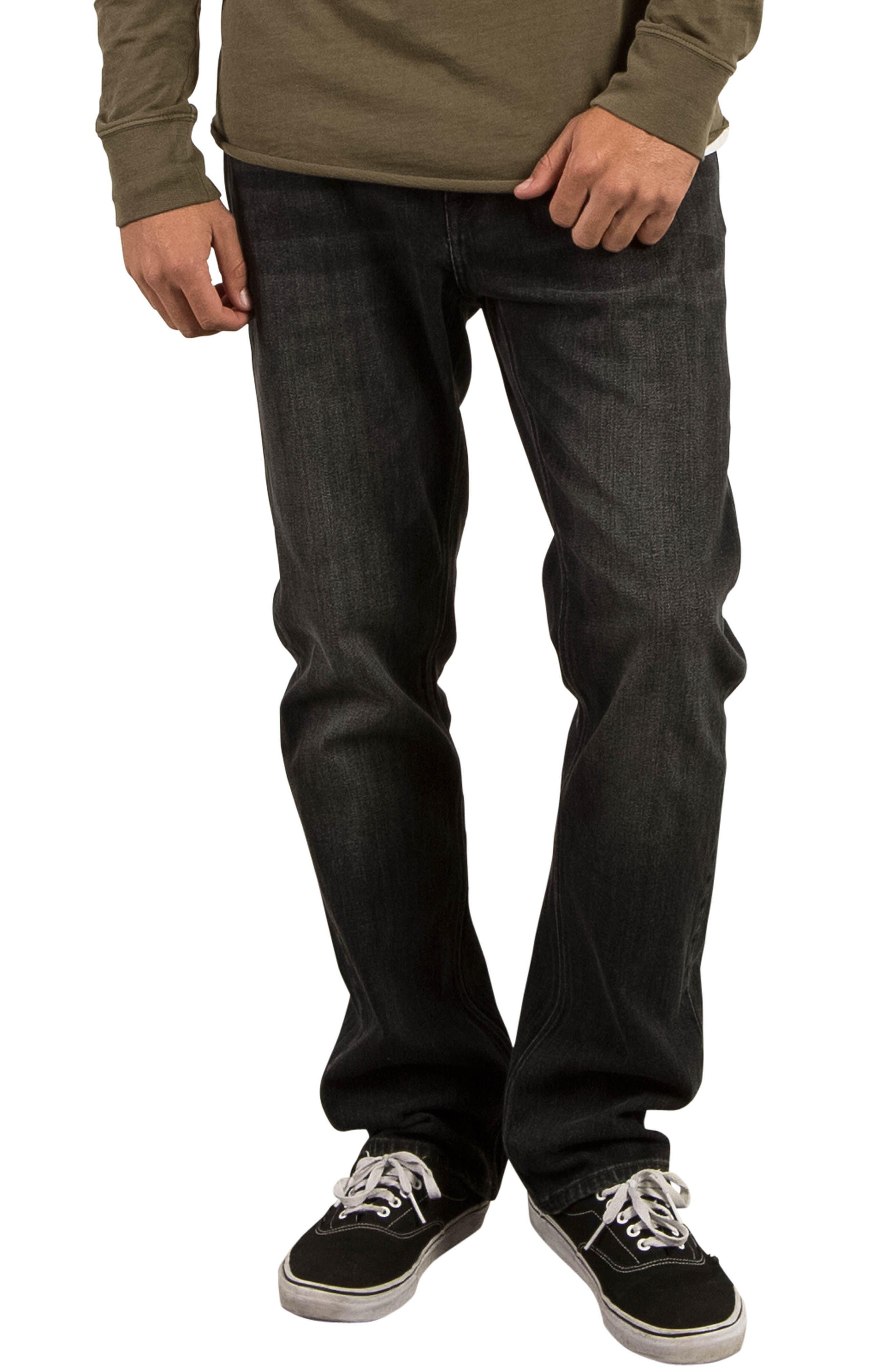 Alternate Image 1 Selected - Volcom Kinkade Tapered Leg Jeans