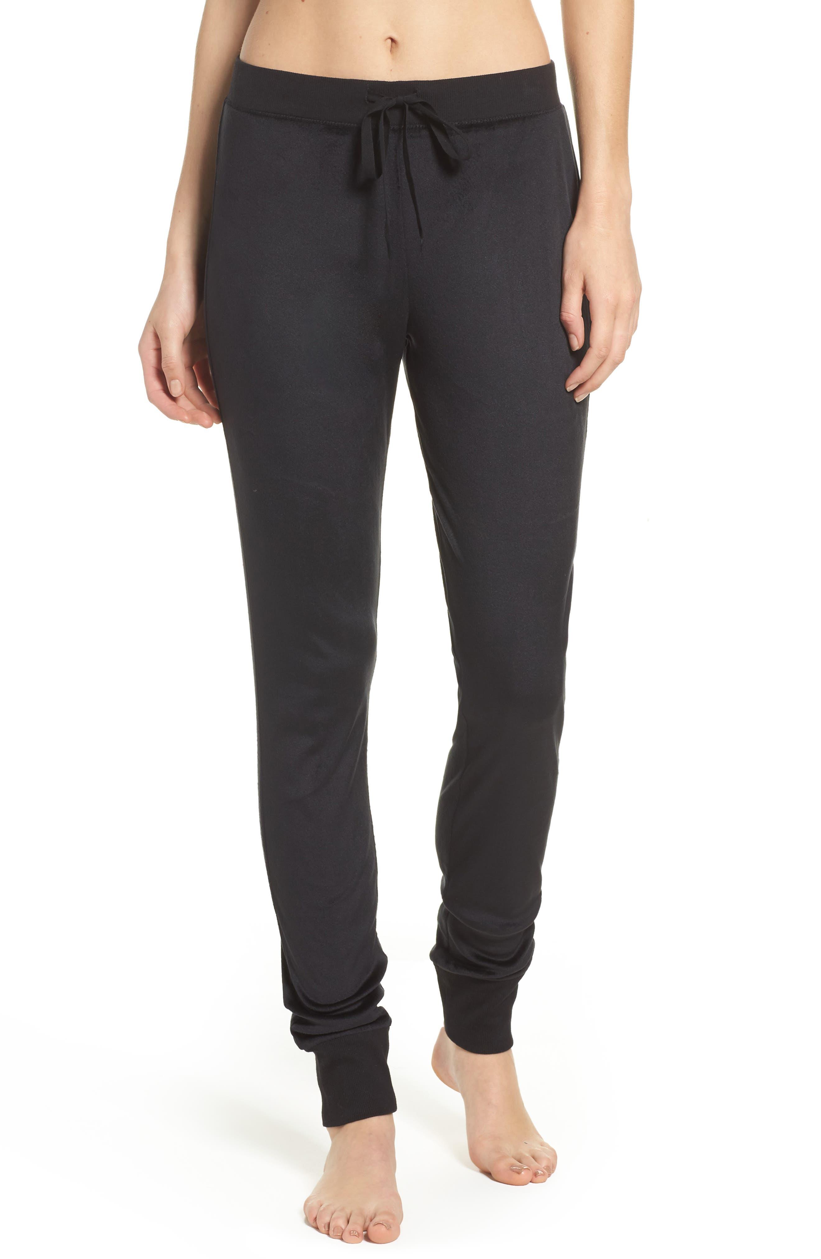 Drawstring Sweatpants,                         Main,                         color, Black