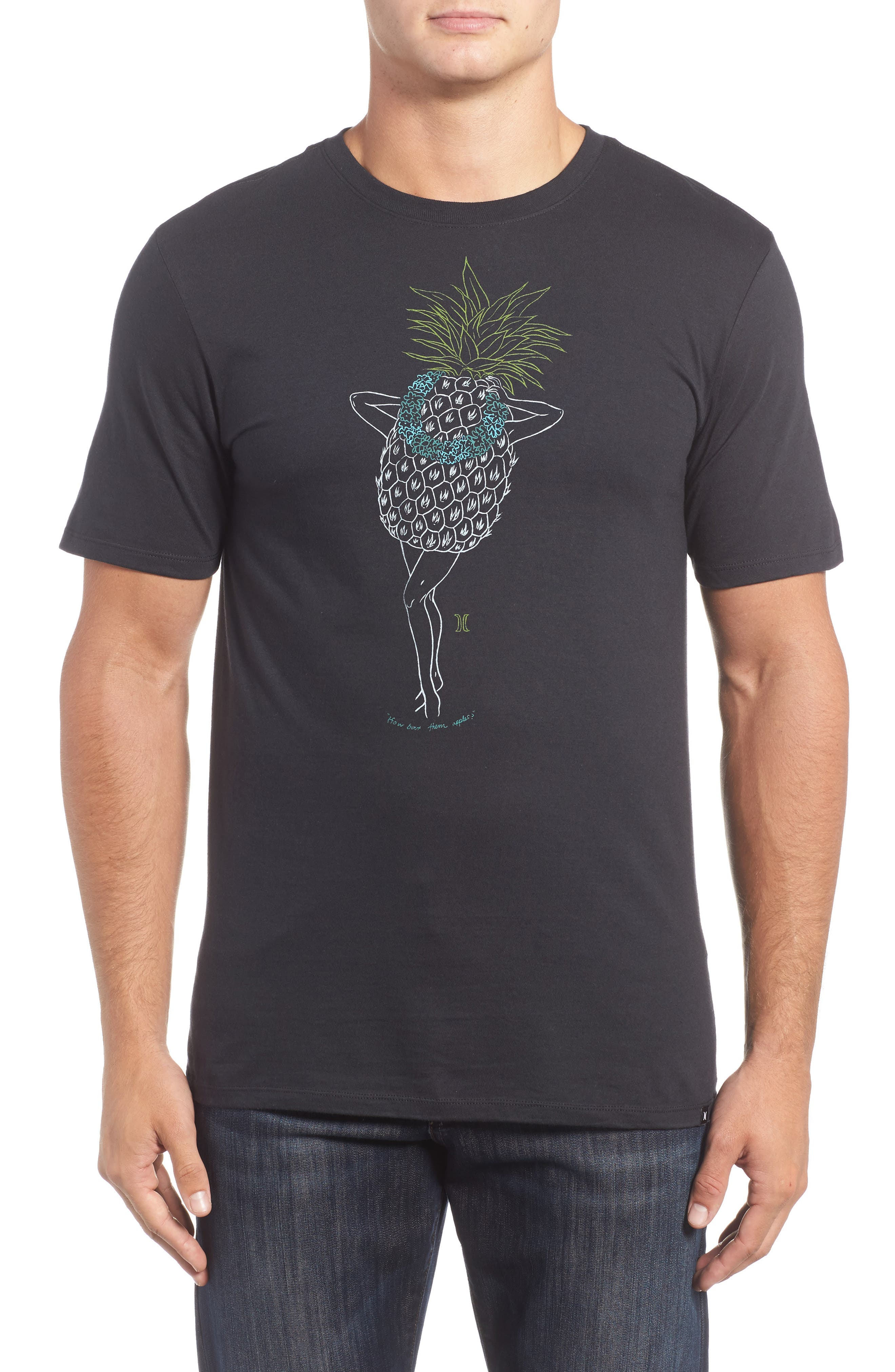 Hurley Pineapple Graphic T-Shirt