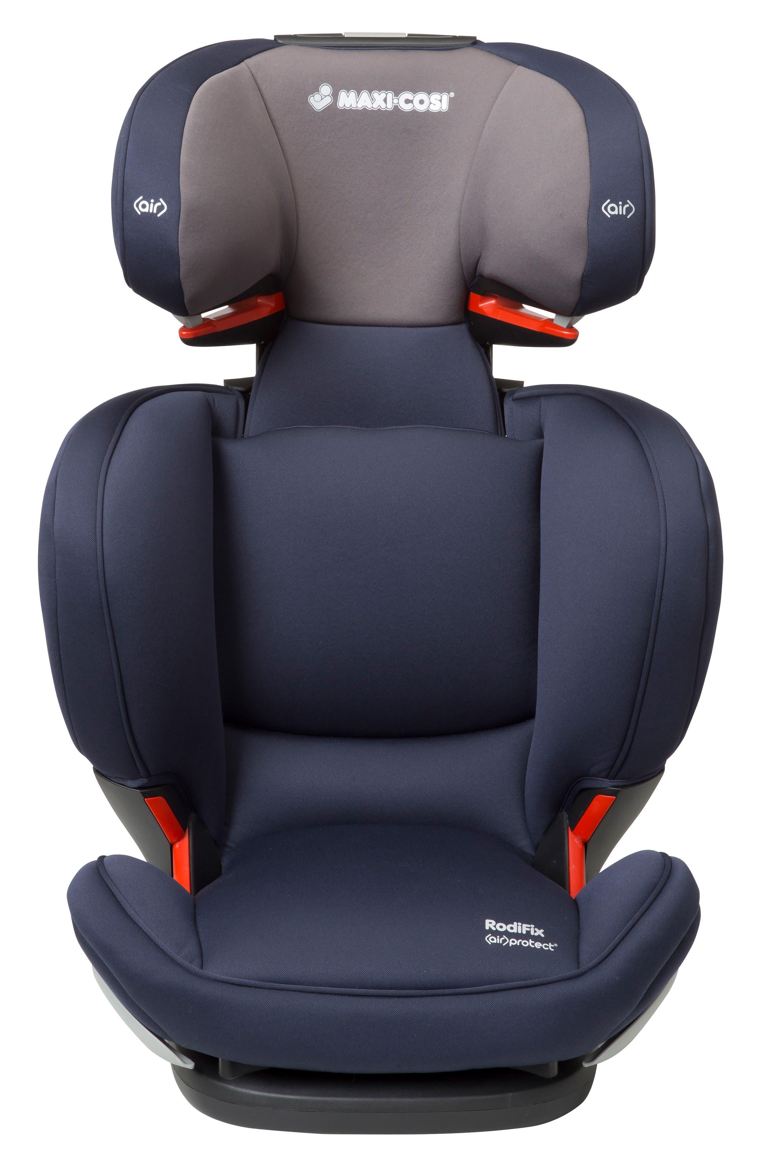 RodiFix Booster Car Seat,                             Main thumbnail 1, color,                             Navy
