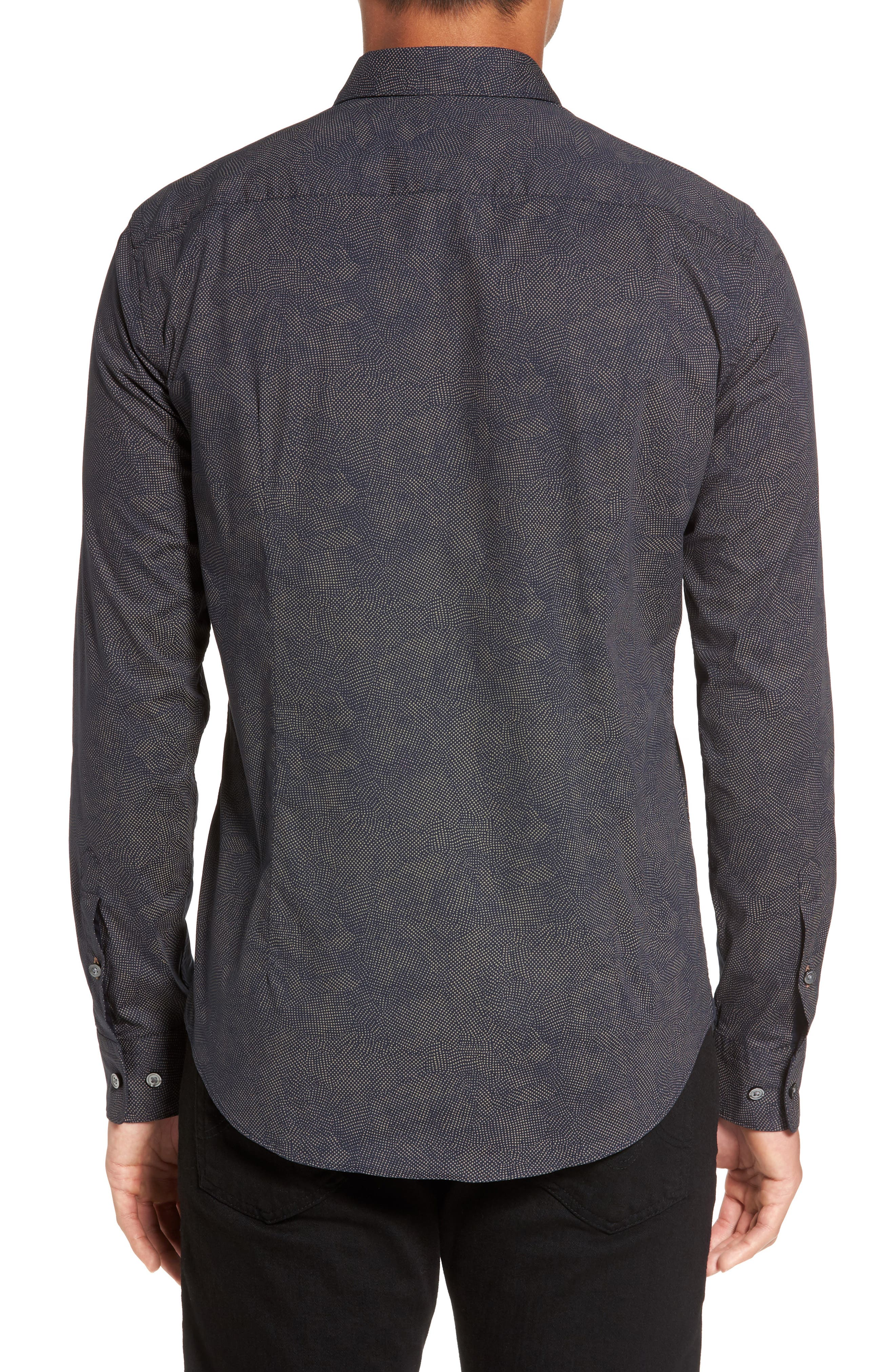 Alternate Image 2  - BOSS Hugo Boss Ronni Print Trim Fit Sport Shirt