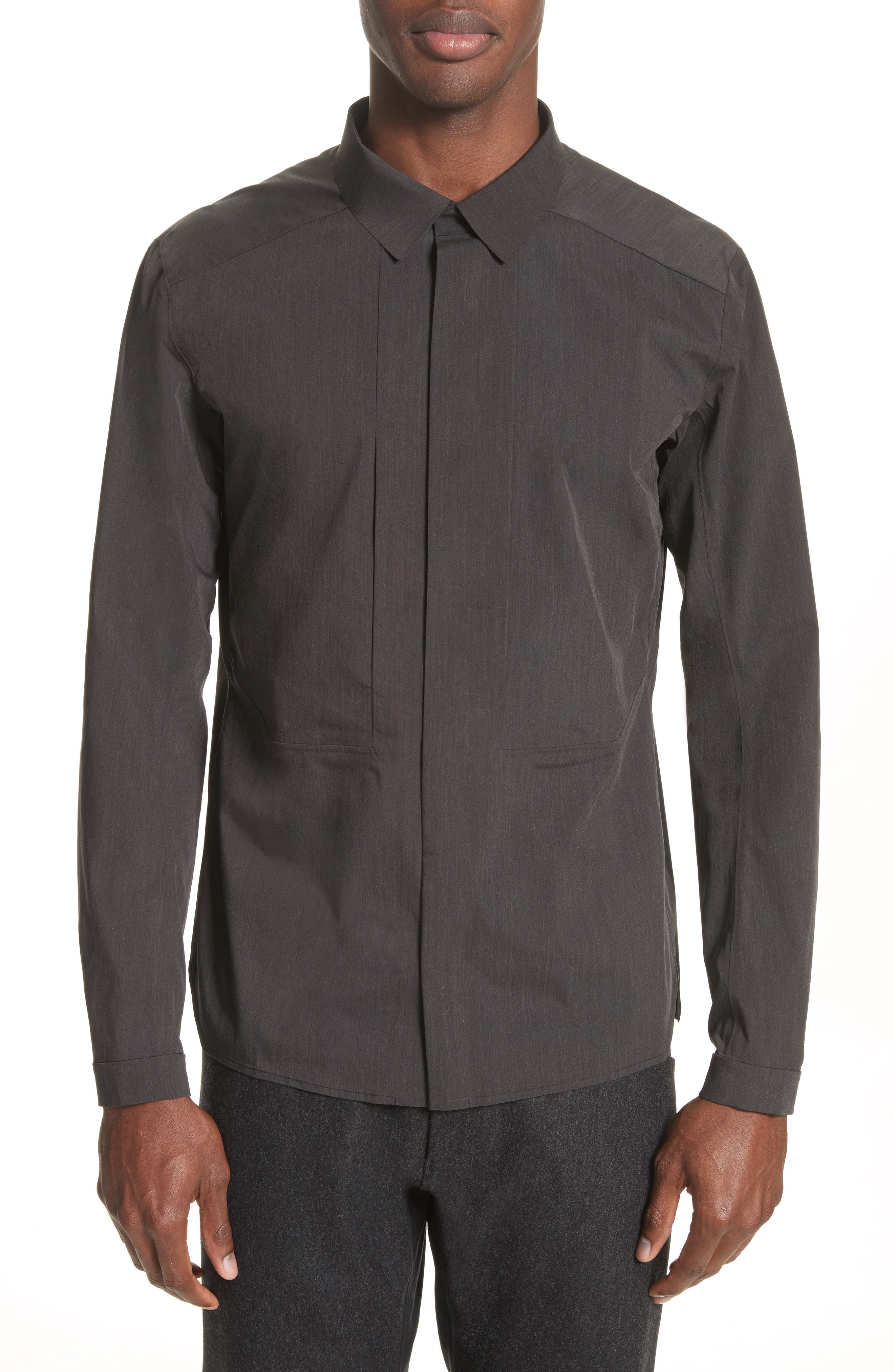 Operand Utility Shirt,                         Main,                         color, Black