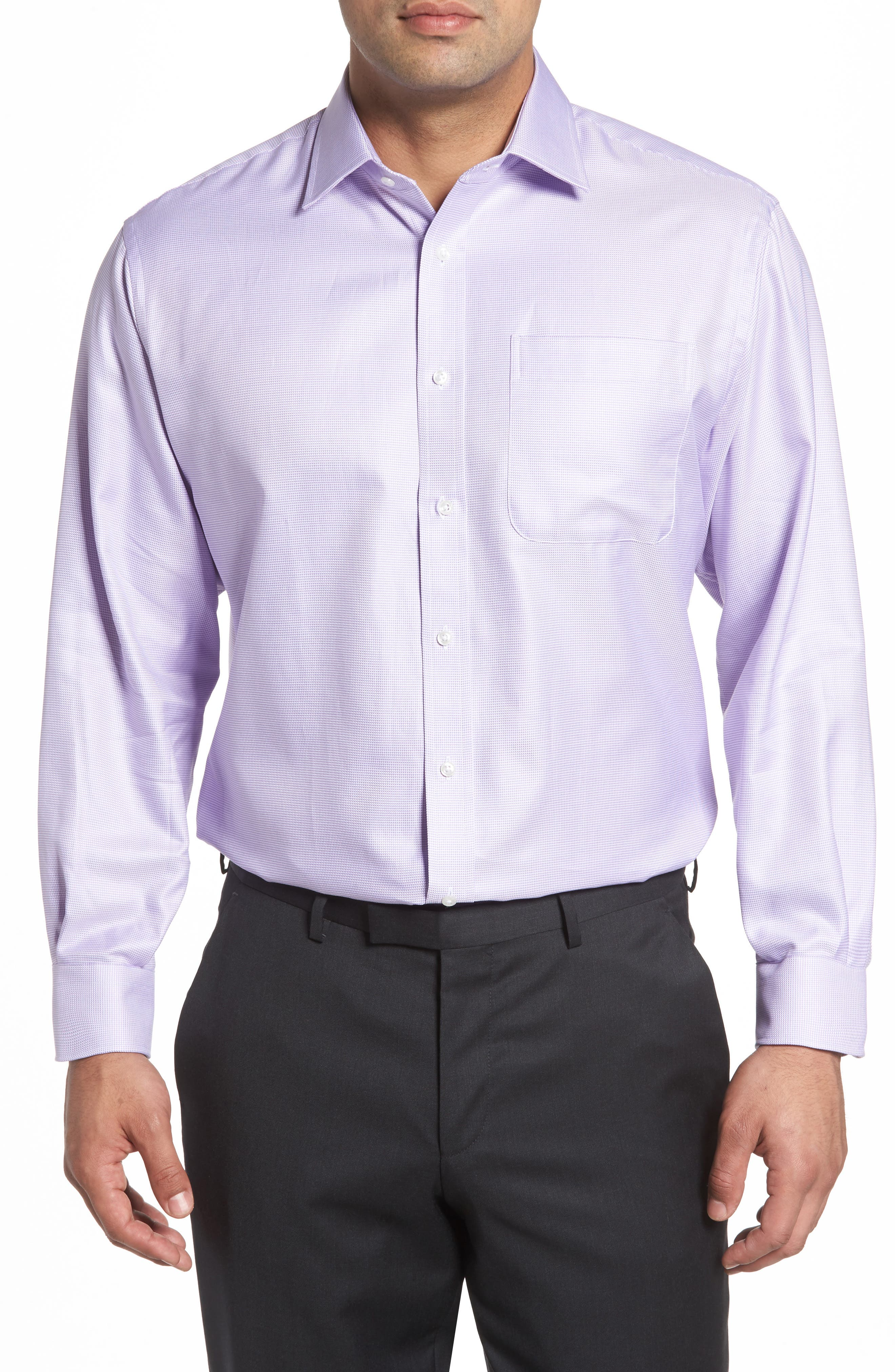 Alternate Image 1 Selected - Nordstrom Men's Shop Classic Fit Microgrid Dress Shirt