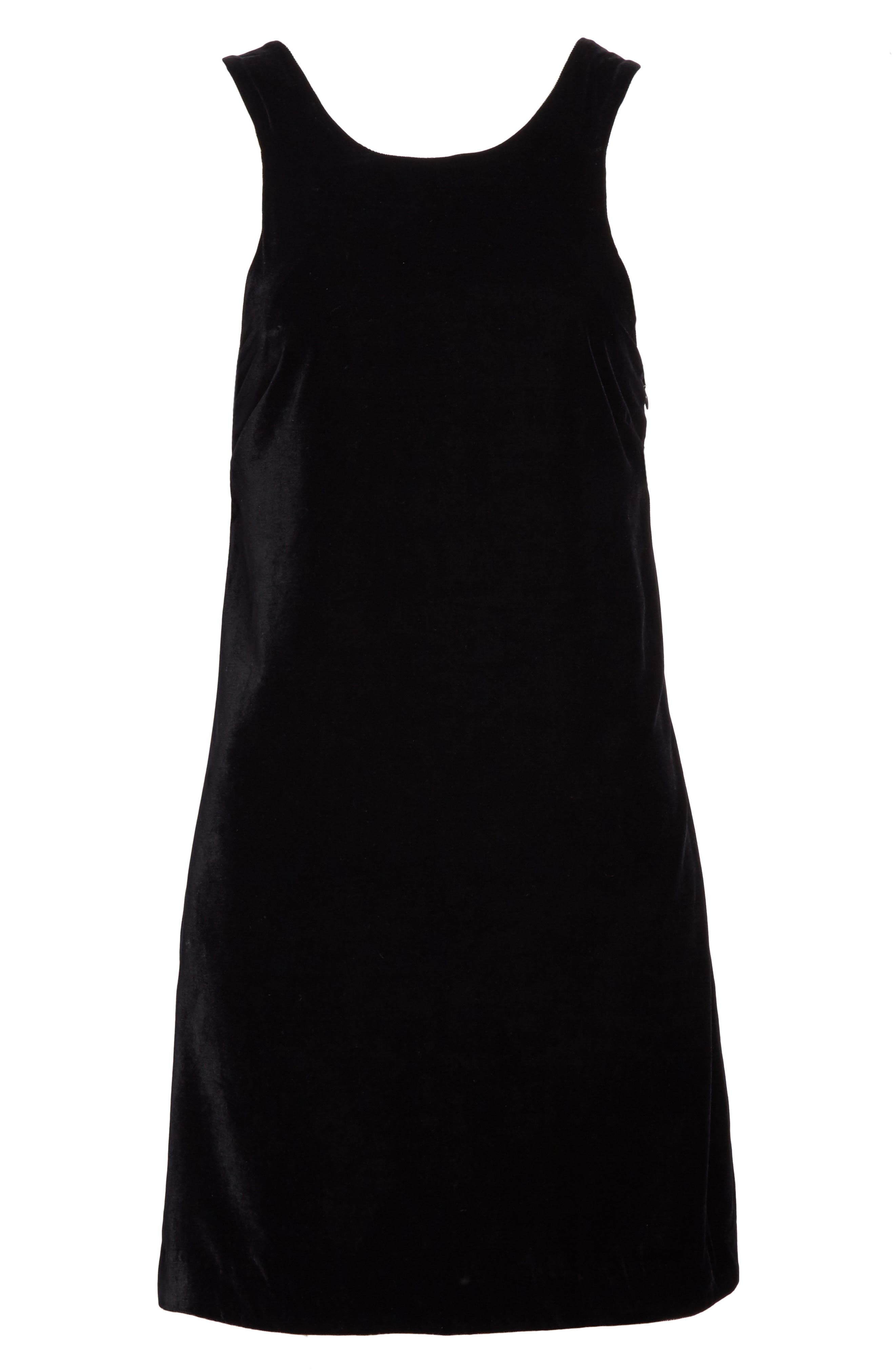 Alternate Image 6  - Elizabeth and James Pippin Velvet Strappy Back Dress