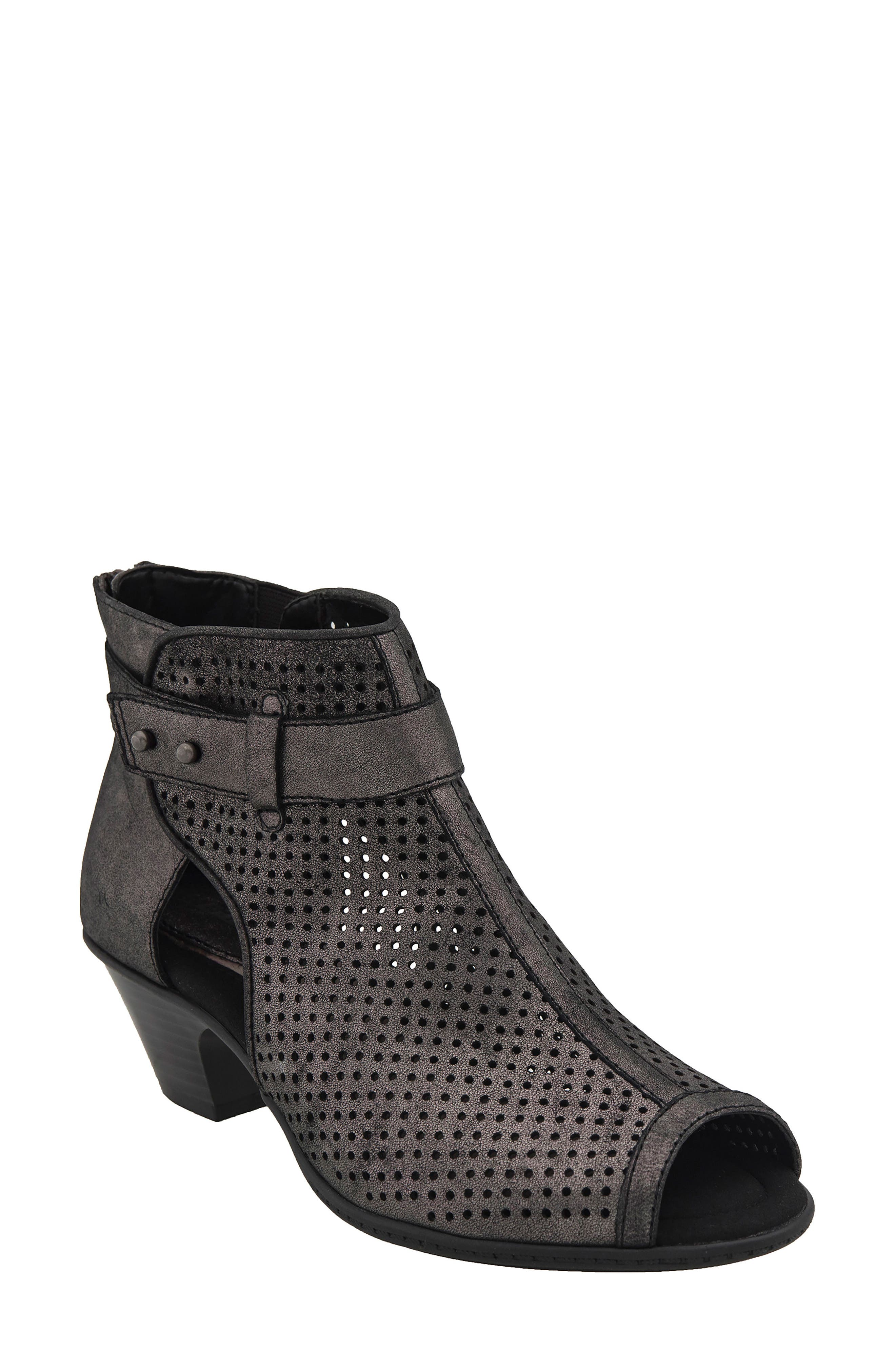 Earth® 'Intrepid' Peep Toe Bootie (Women)