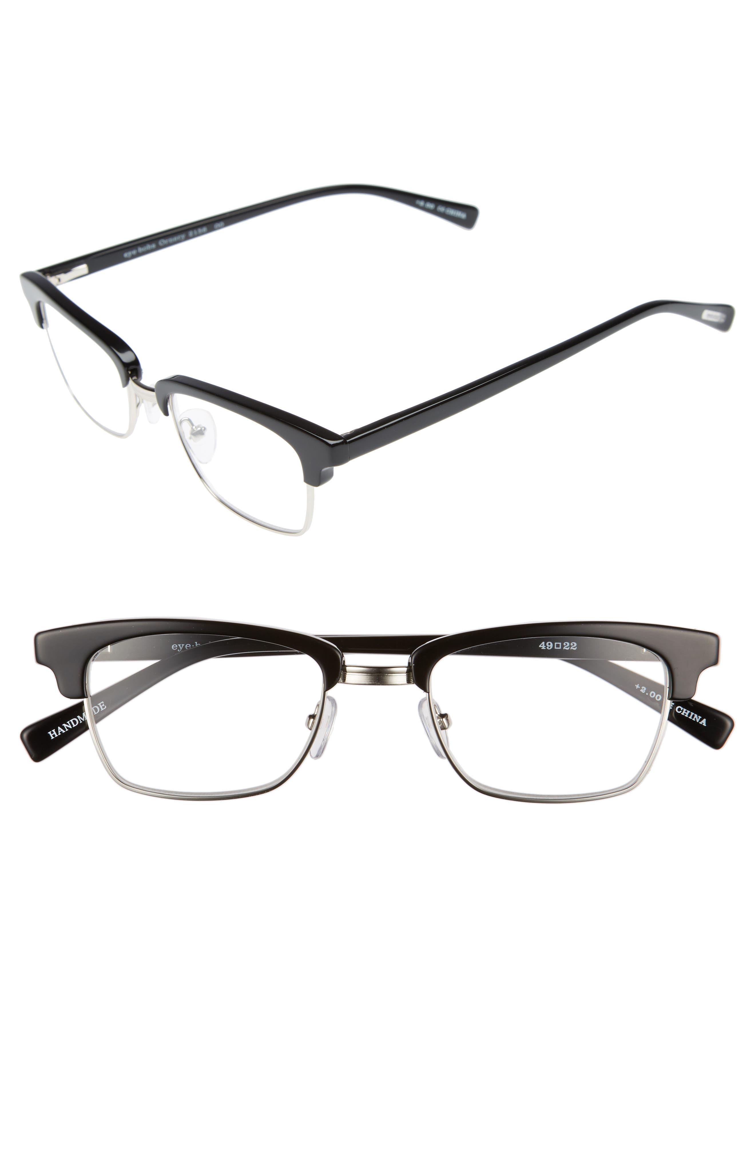 EYEBOBS Ornery 49mm Reading Glasses