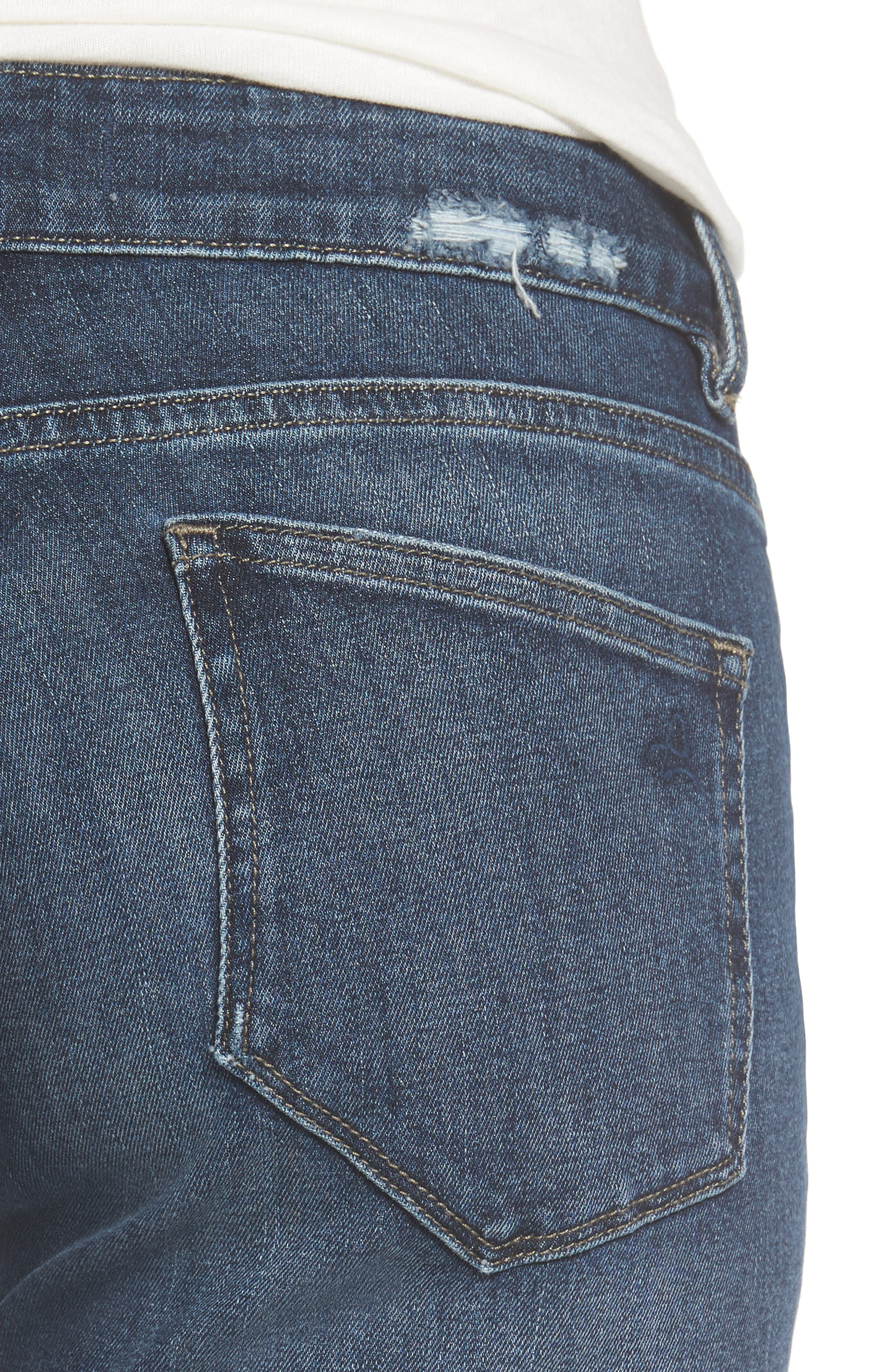 Alternate Image 4  - DL1961 Riley Boyfriend Jeans (Hayden)