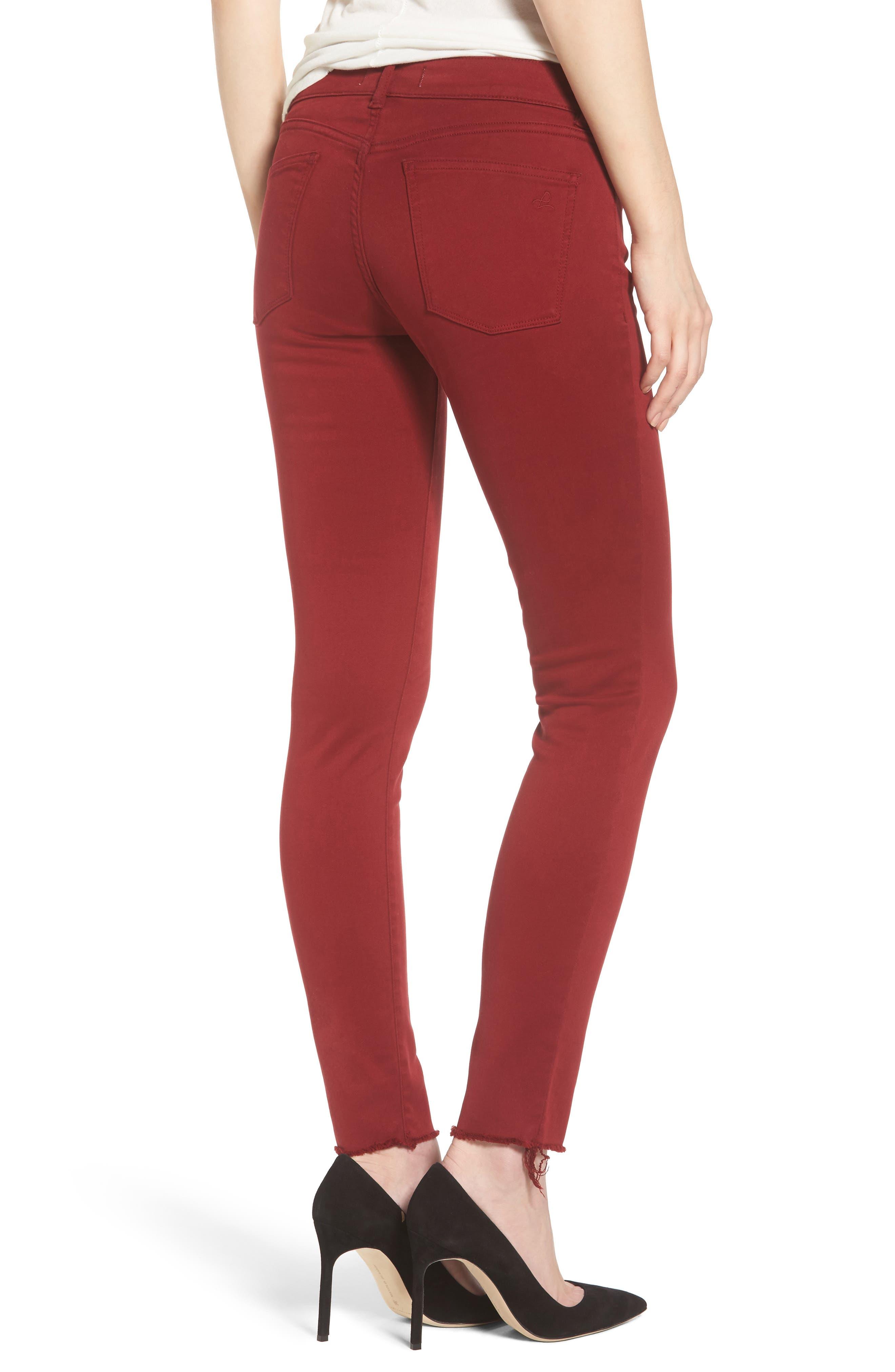 Emma Power Legging Jeans,                             Alternate thumbnail 2, color,                             Rhubarb