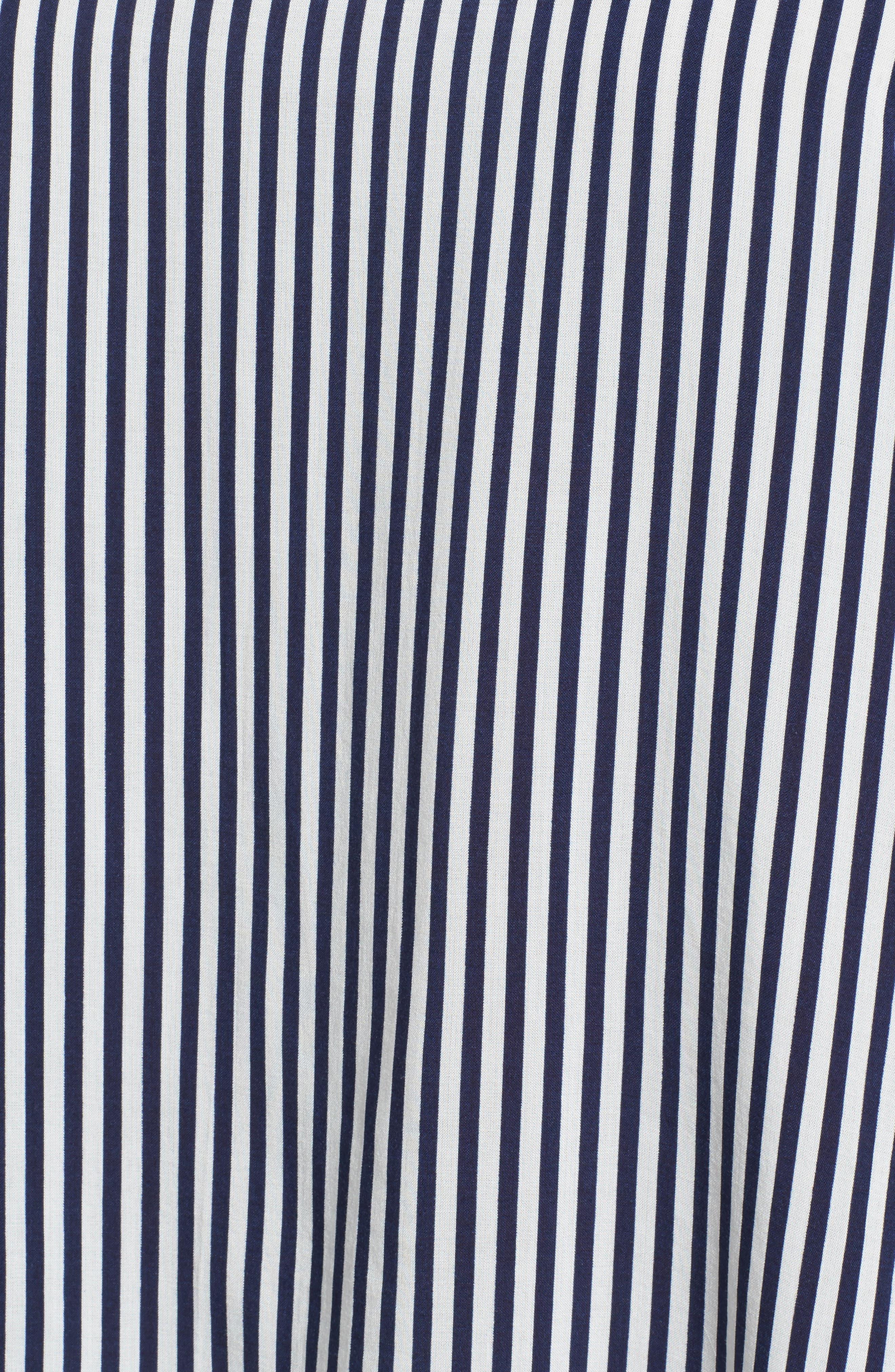 Alternate Image 6  - Velvet by Graham & Spencer Stripe Tie Bell Sleeve Blouse