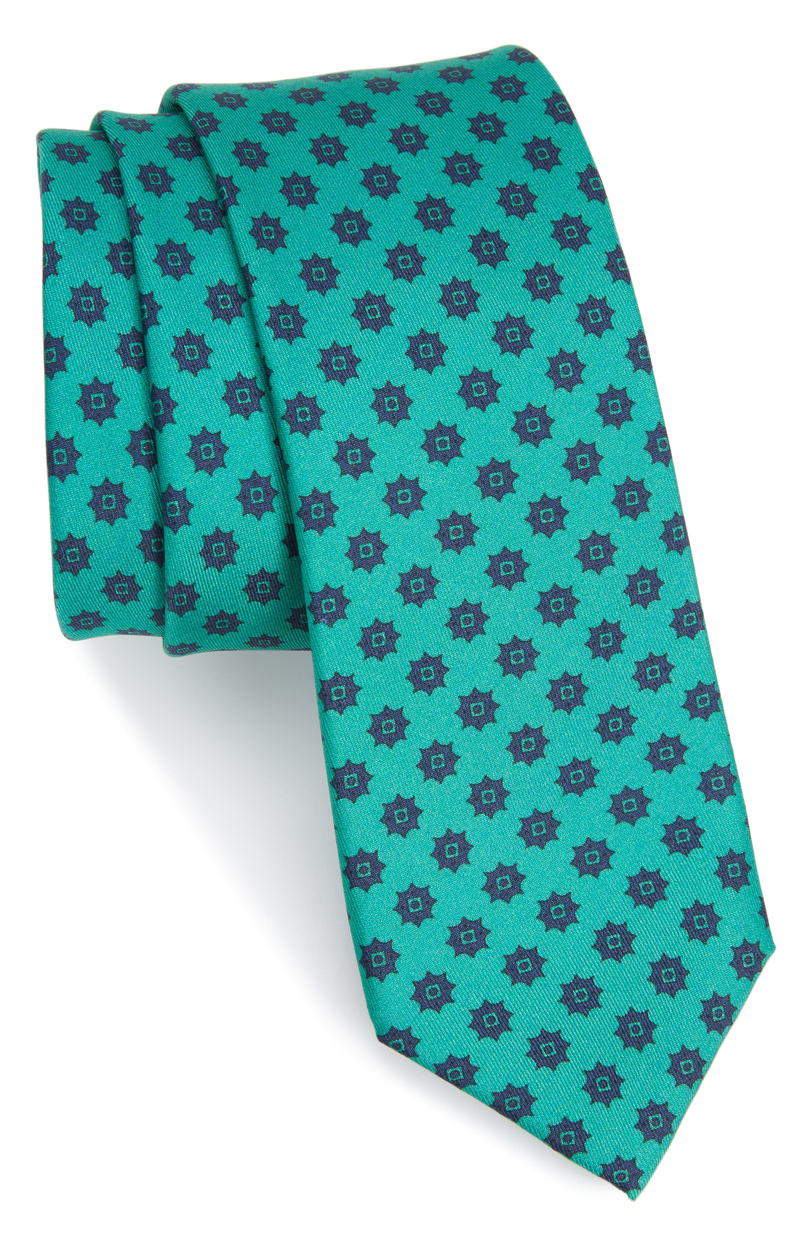Alternate Image 1 Selected - The Tie Bar Major Star Silk Tie