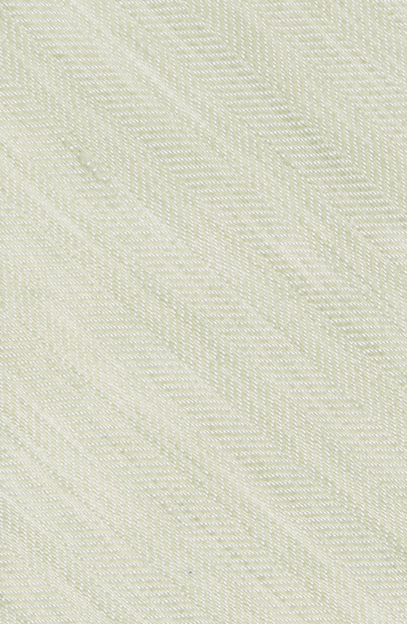 Alternate Image 2  - The Tie Bar Solid Linen & Silk Tie