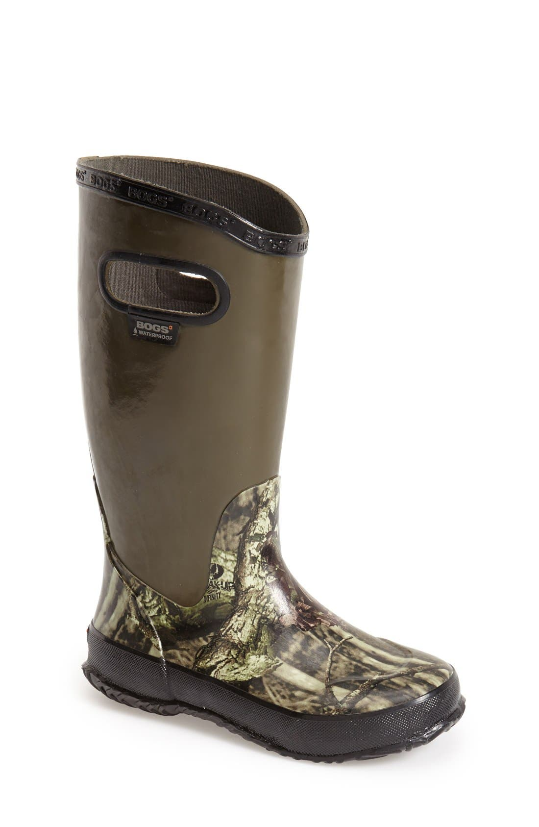 Alternate Image 1 Selected - Bogs Hunting Waterproof Rubber Rain Boot (Walker, Toddler, Little Kid & Big Kid)
