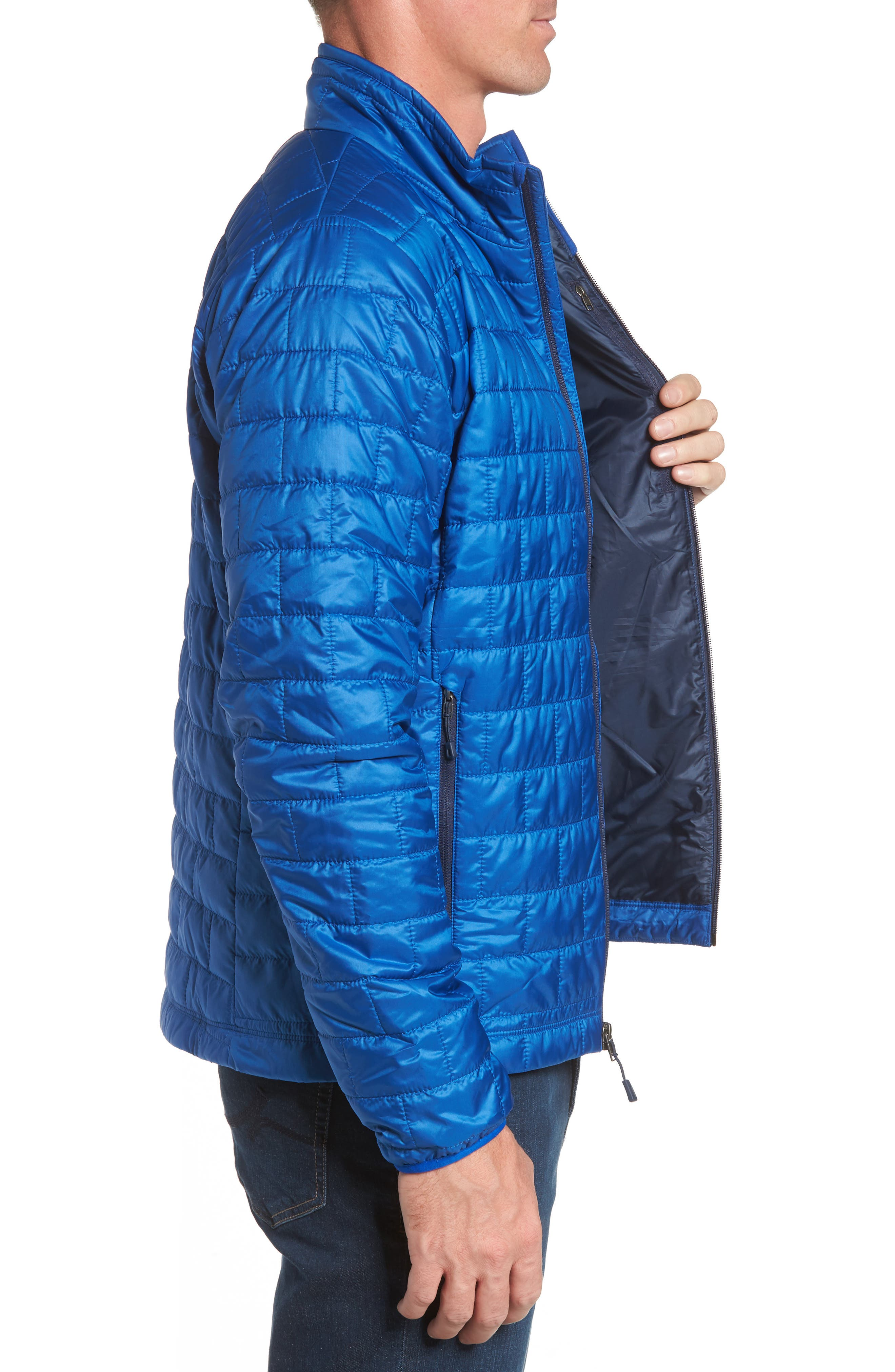 'Nano Puff<sup>®</sup>' Water Resistant Jacket,                             Alternate thumbnail 3, color,                             Viking Blue