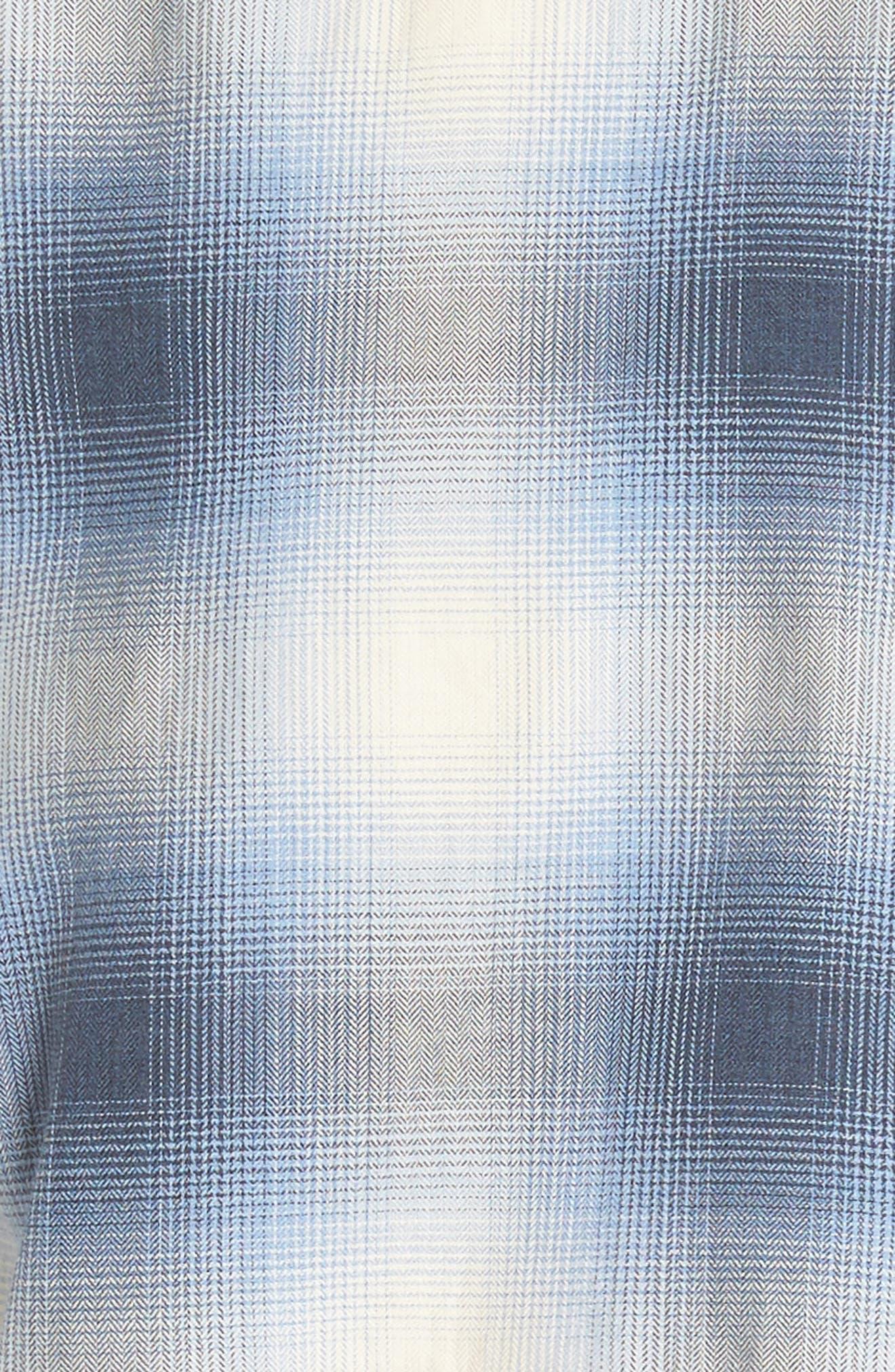 Regular Fit Check Sport Shirt,                             Alternate thumbnail 6, color,                             Light Blue