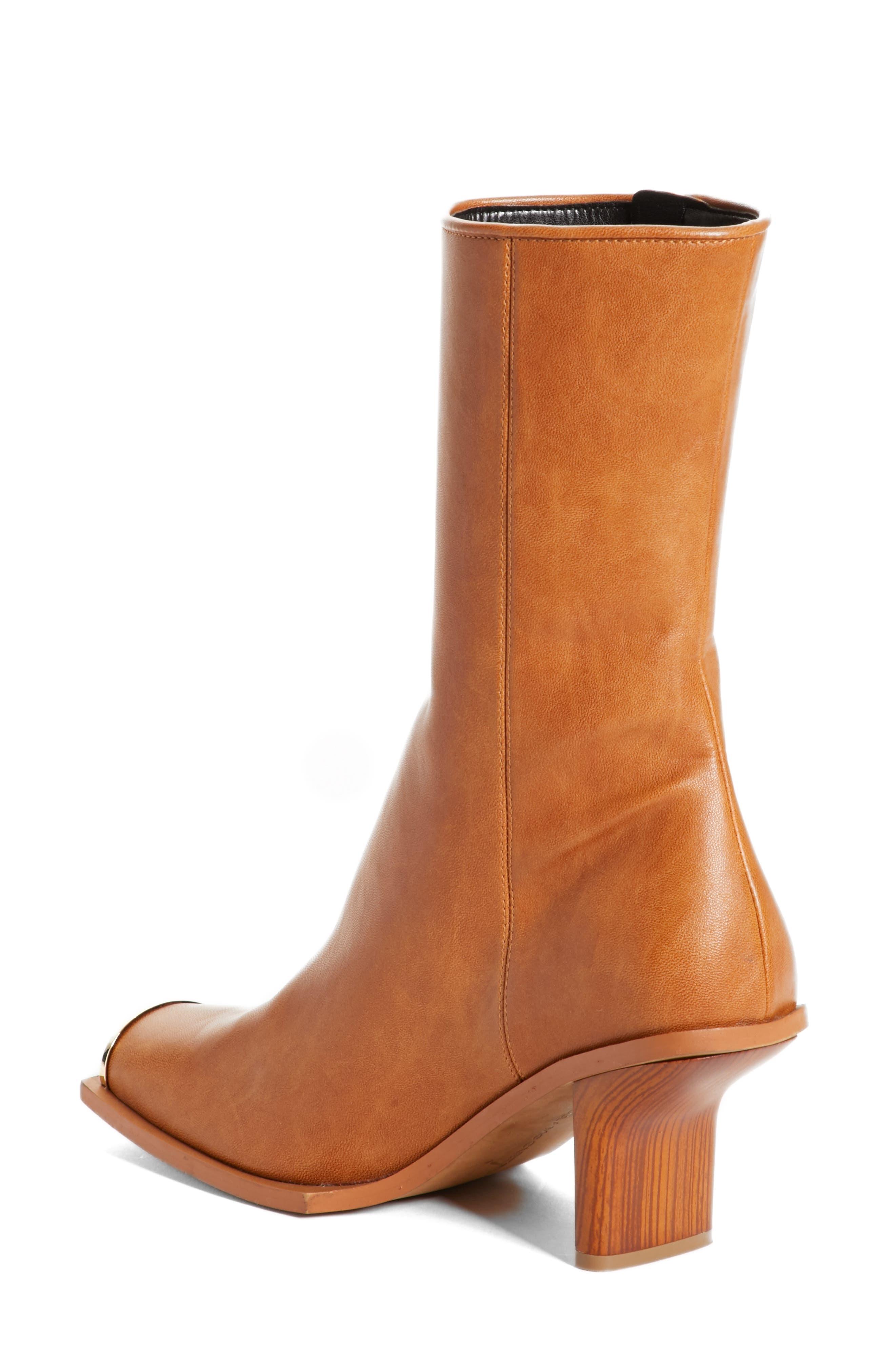 Alternate Image 2  - Stella McCartney Cap Toe Boot (Women)