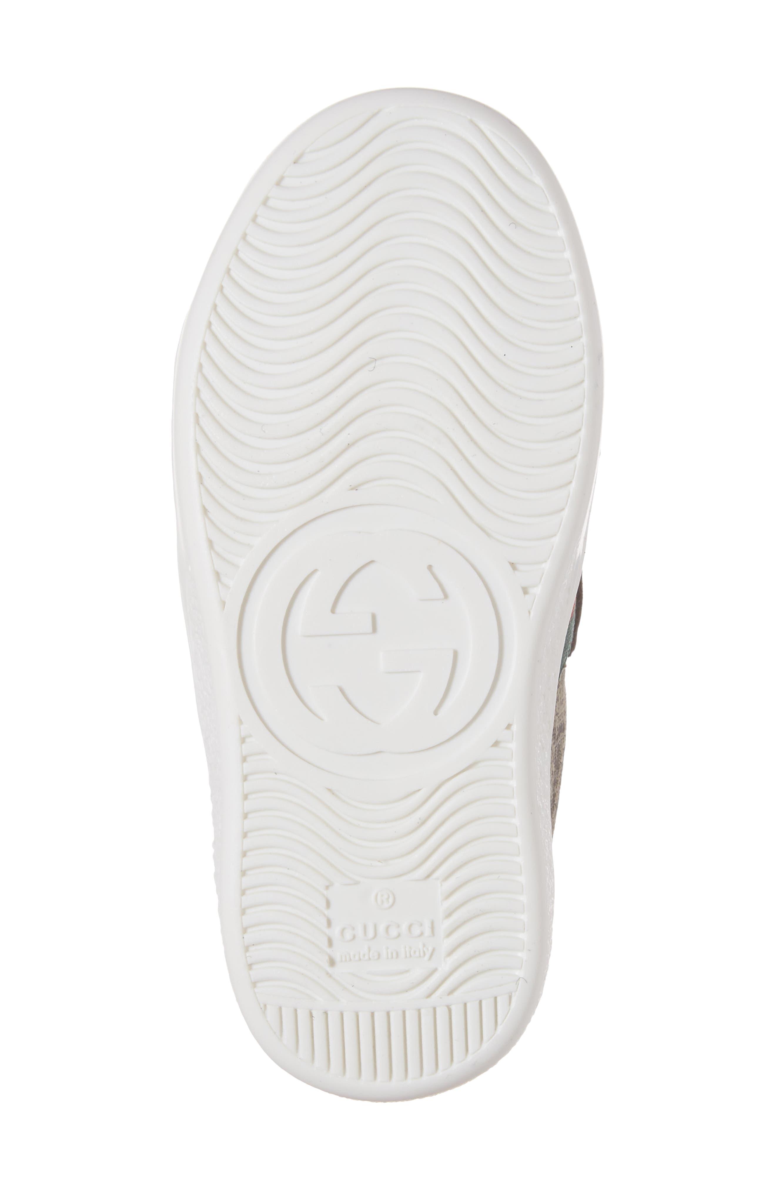 Alternate Image 6  - Gucci New Ace Monogram Sneaker (Baby, Walker, Toddler, Little Kid & Big Kid)