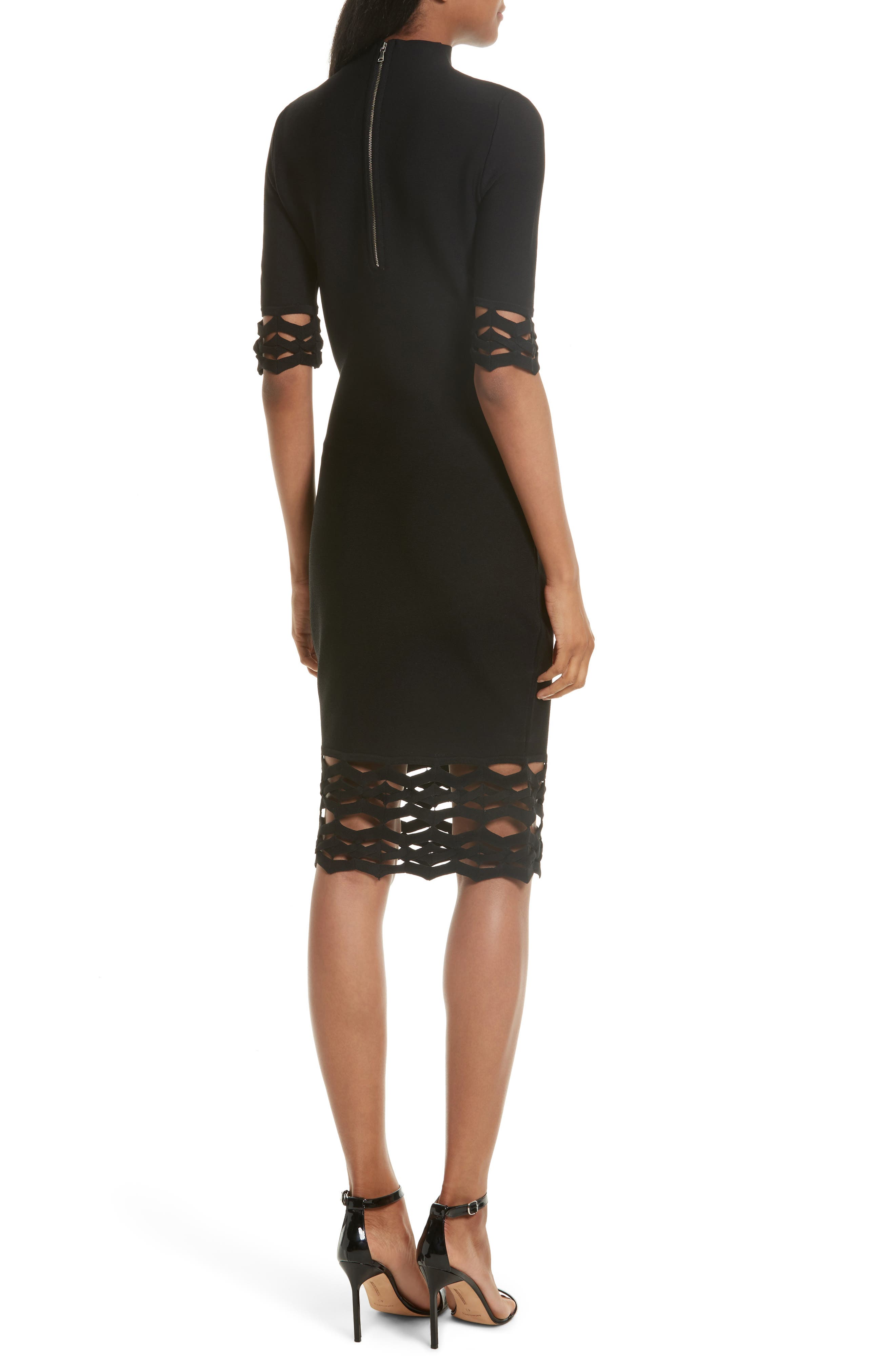 Alternate Image 2  - Milly Cutout Detail Sheath Dress