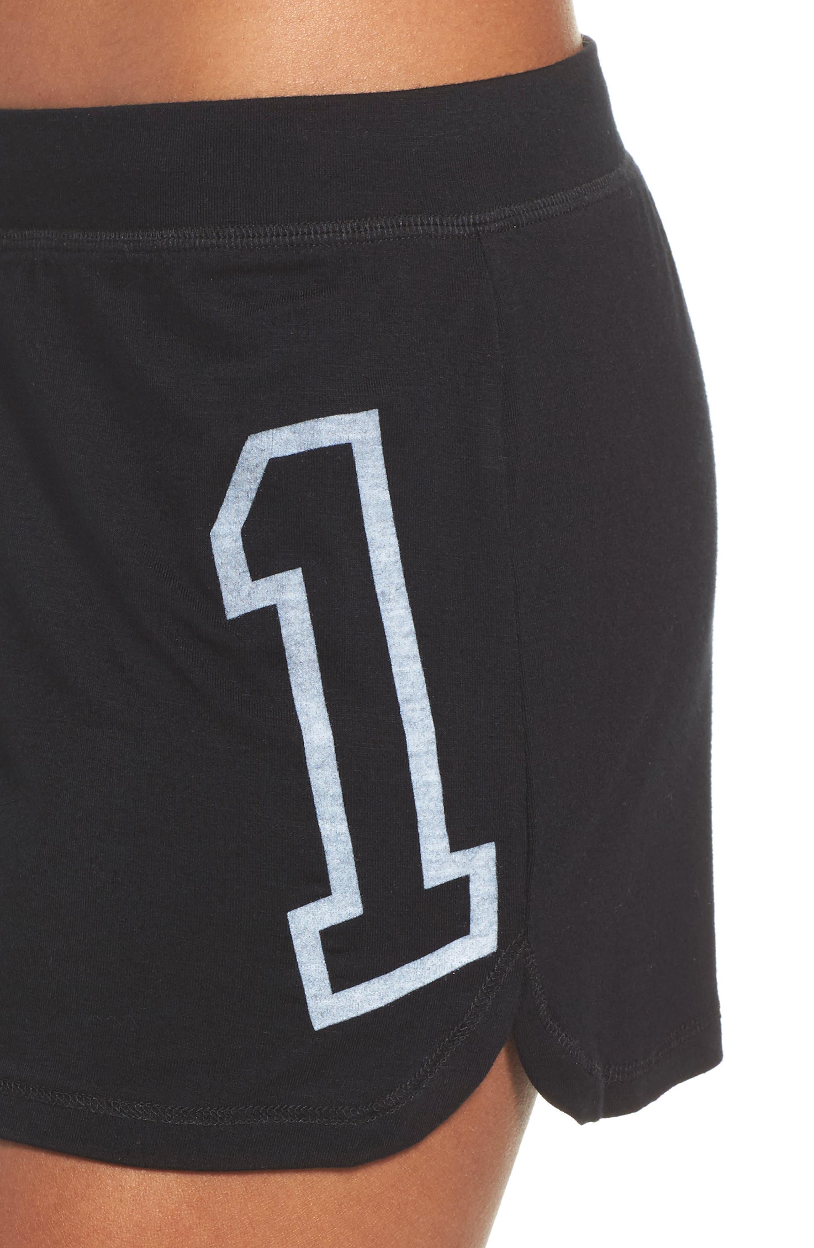 Dreamer Lounge Shorts,                             Alternate thumbnail 6, color,                             True Black
