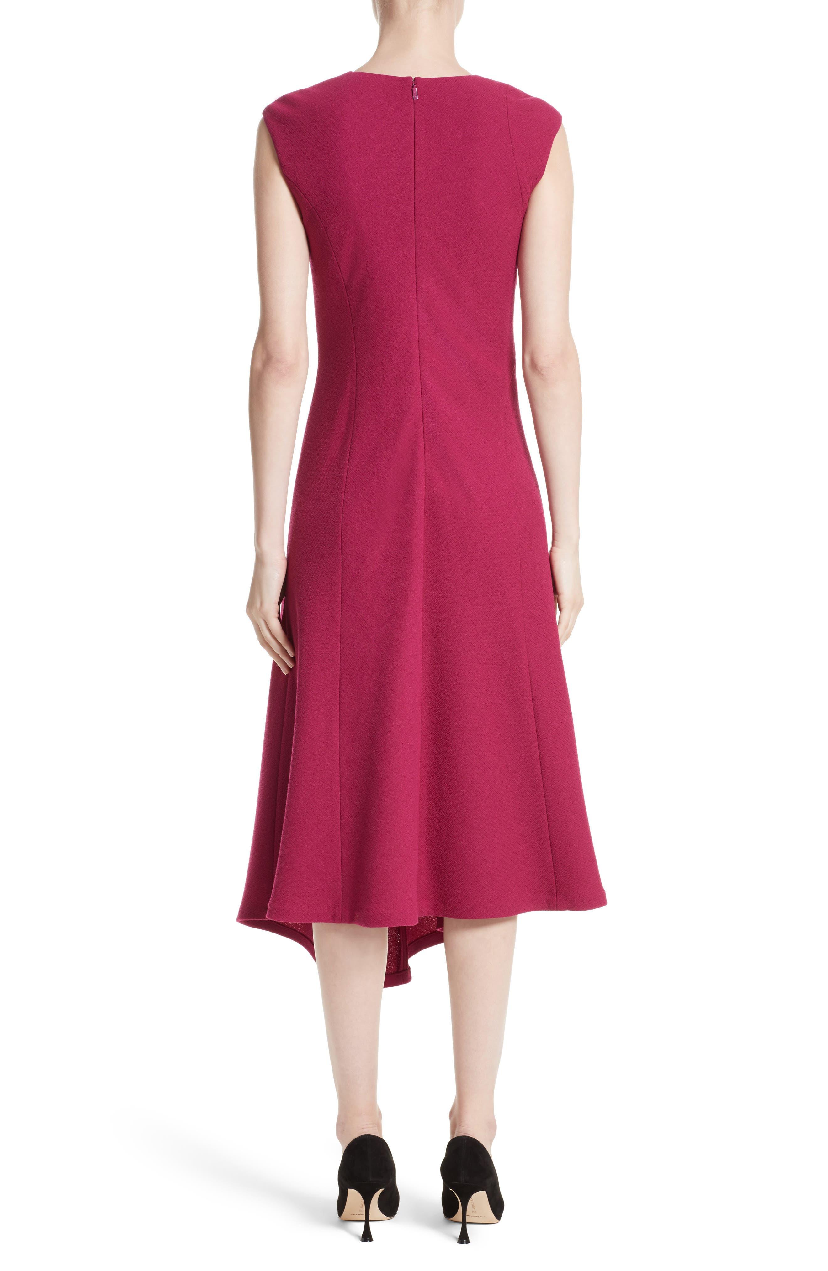 Alternate Image 2  - Lafayette 148 New York Aveena Wool Interlock Dress