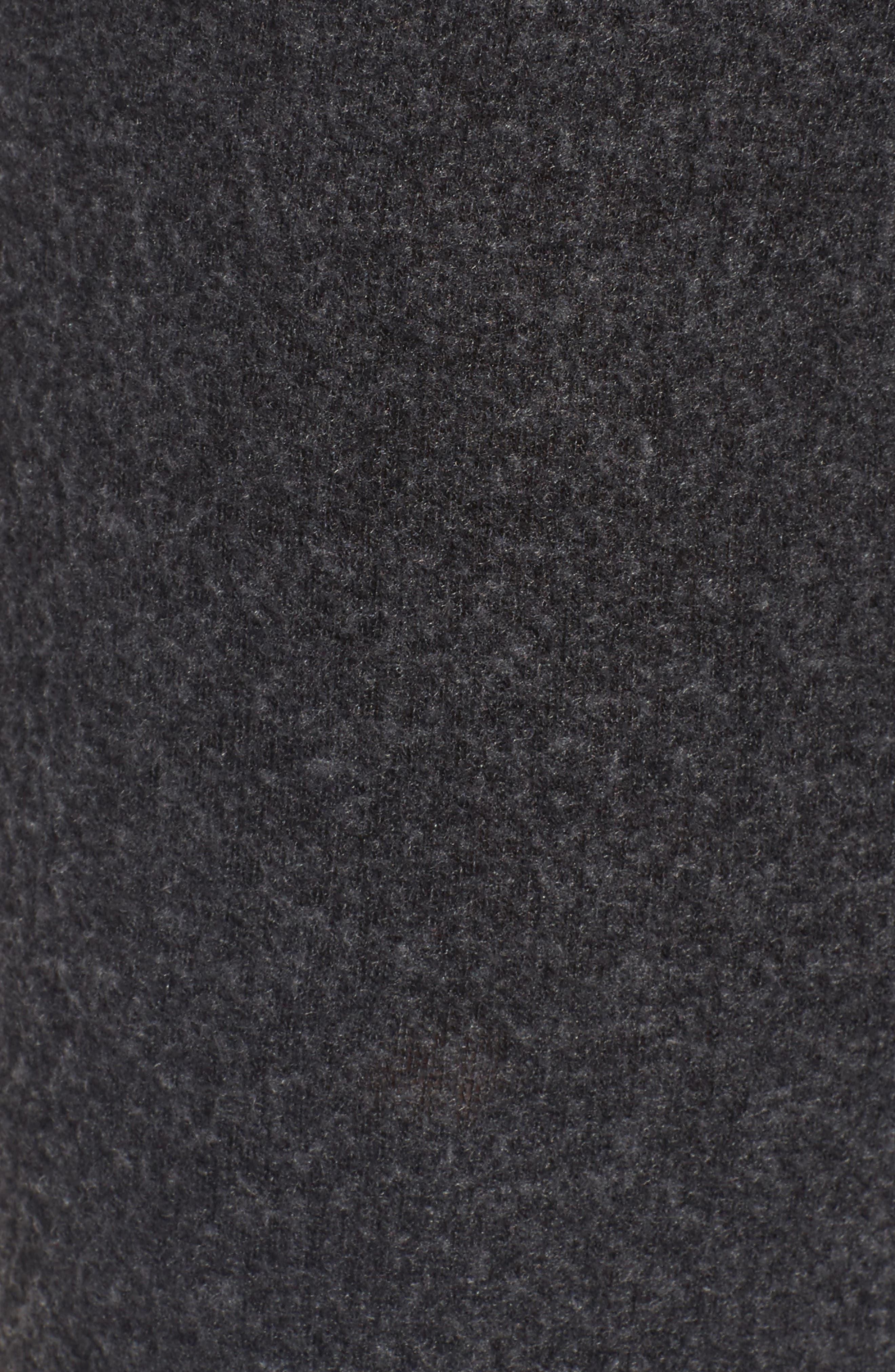 Salty Hair Track Pants,                             Alternate thumbnail 5, color,                             Black
