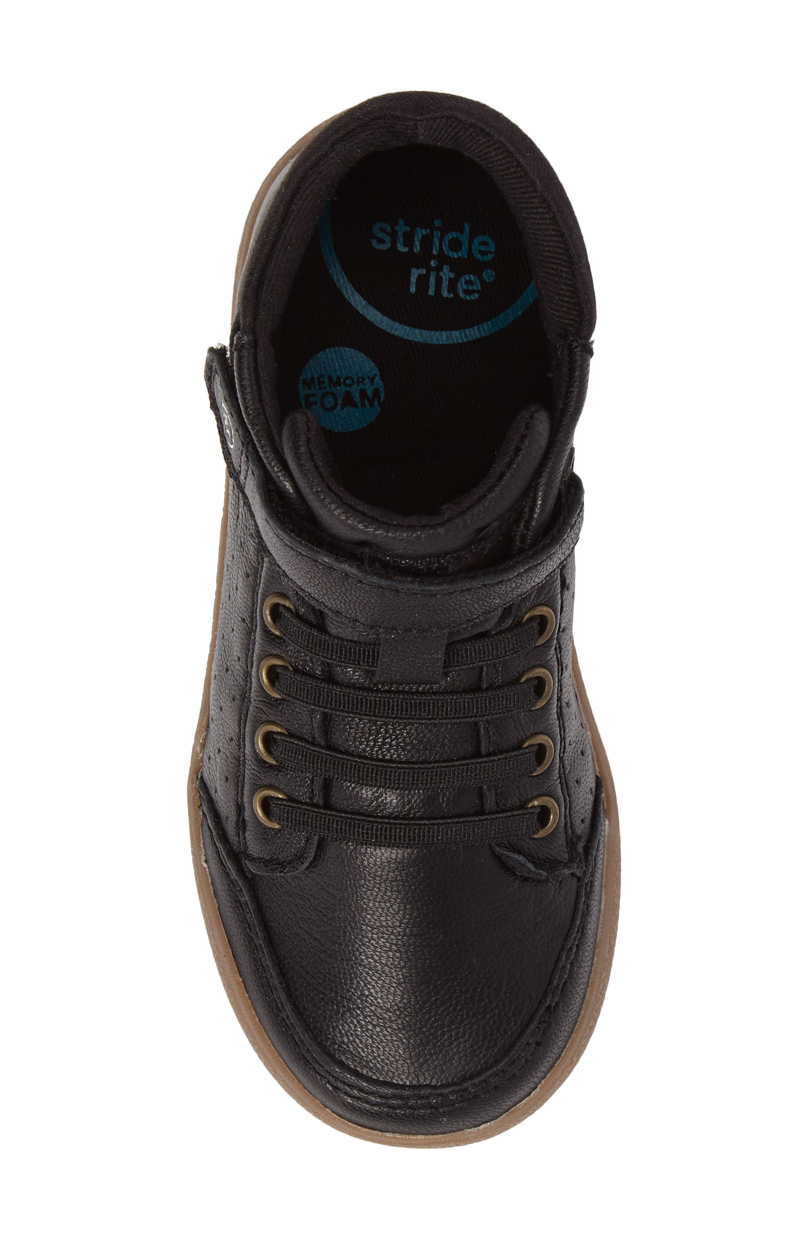 Alternate Image 5  - Stride Rite Stone High Top Sneaker (Baby, Walker & Toddler)
