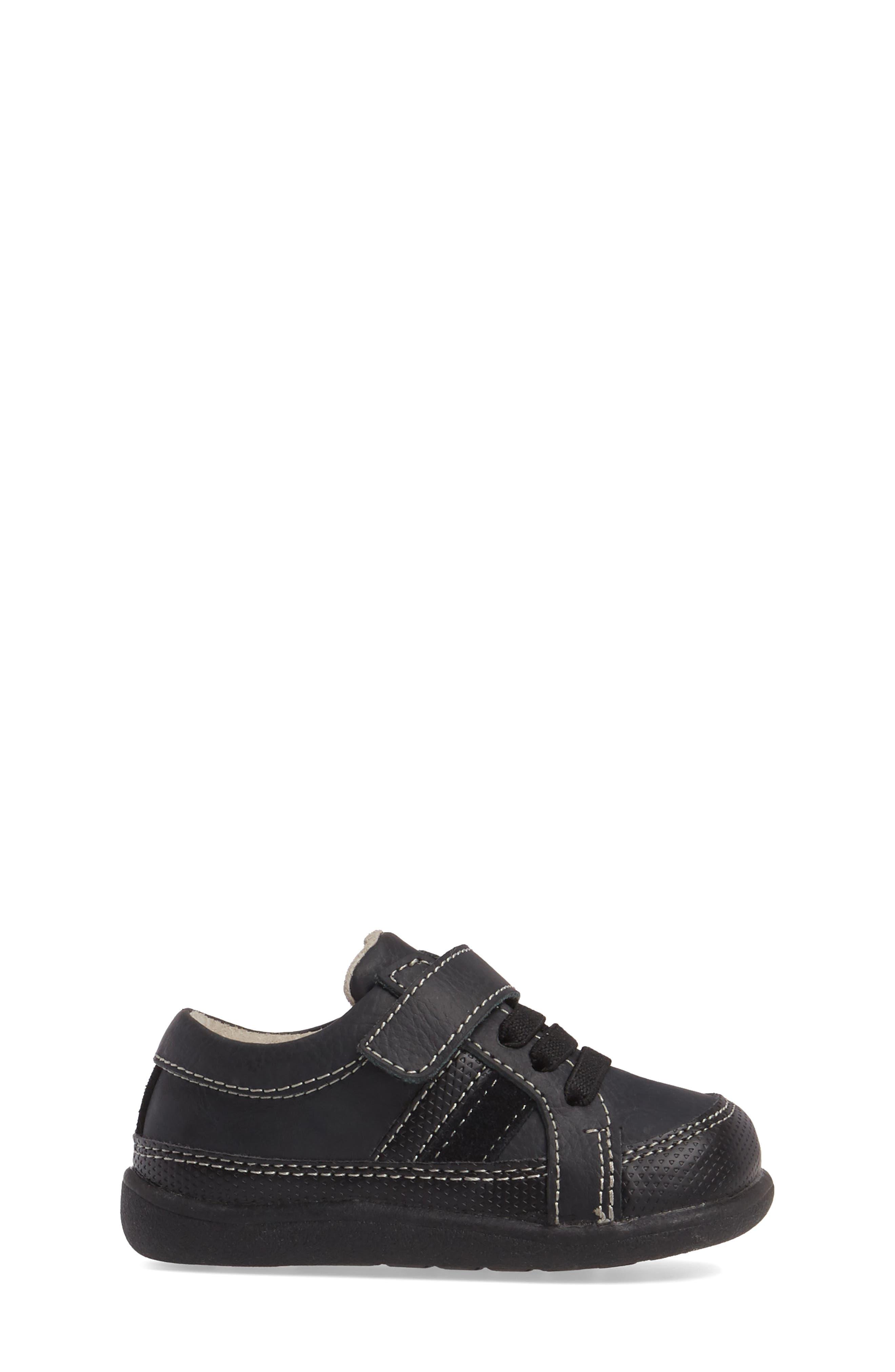 Randall II Sneaker,                             Alternate thumbnail 3, color,                             Black