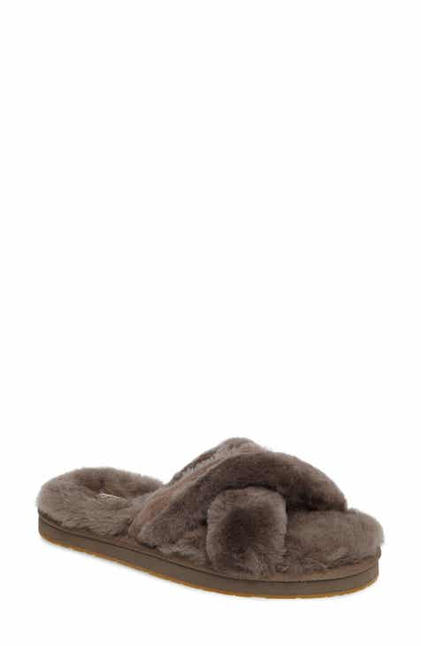 a0fc7aa8e9a56 UGG® Abela Genuine Shearling Flip Flop (Women)