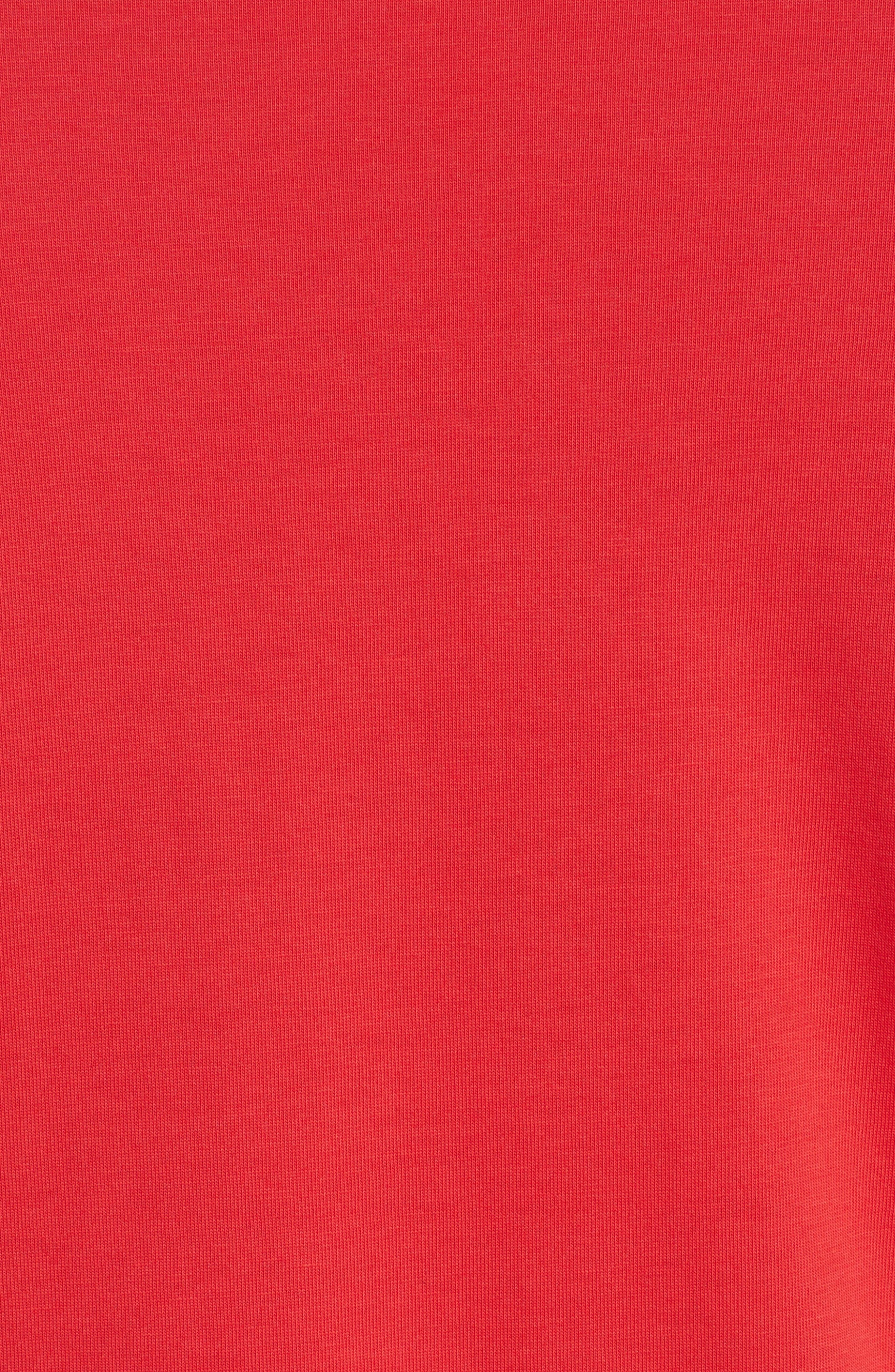 Frill Tee,                             Alternate thumbnail 3, color,                             Red