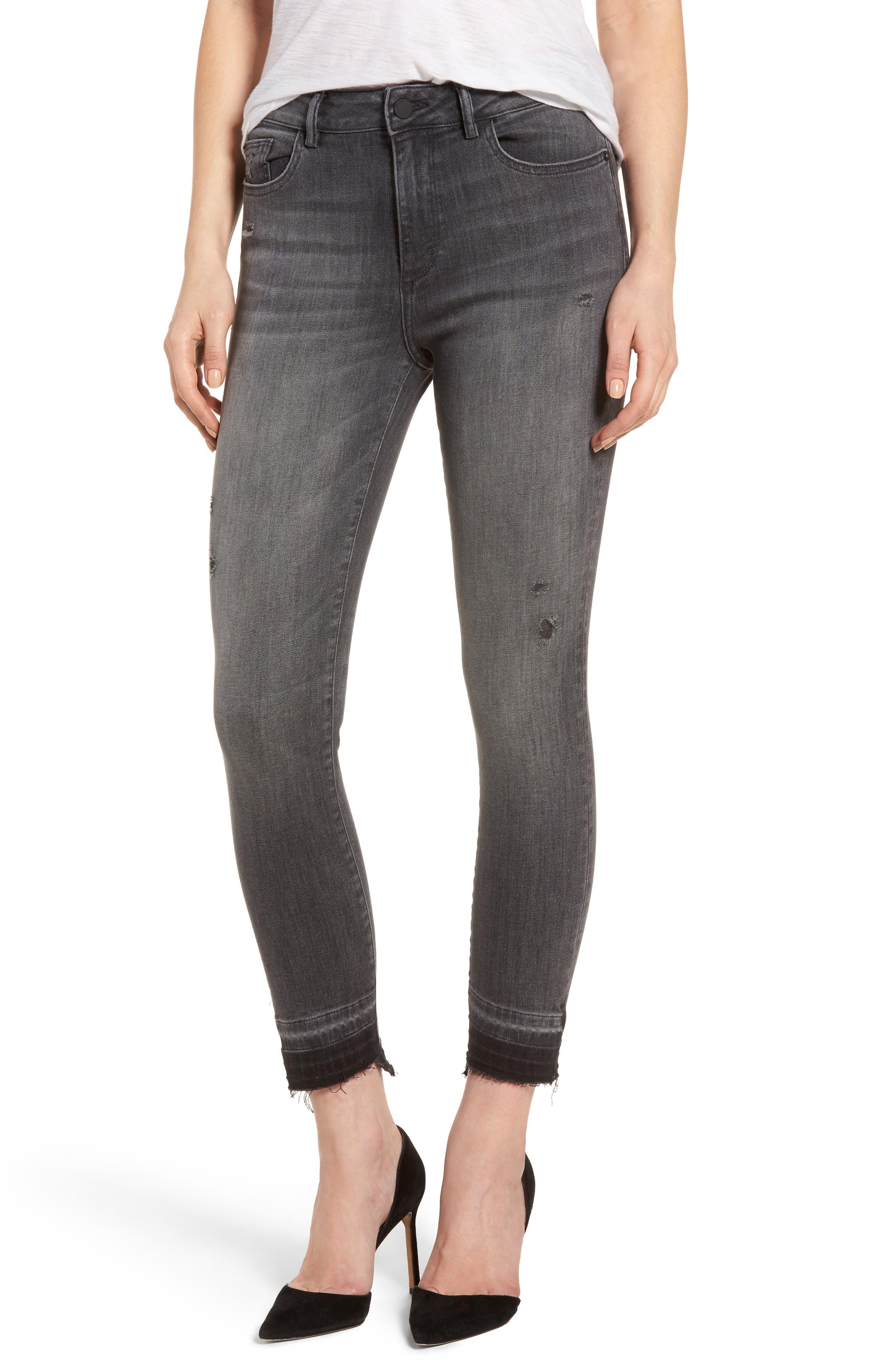 Alternate Image 1 Selected - DL1961 Farrow High Waist Instaslim Skinny Jeans (Whitney)