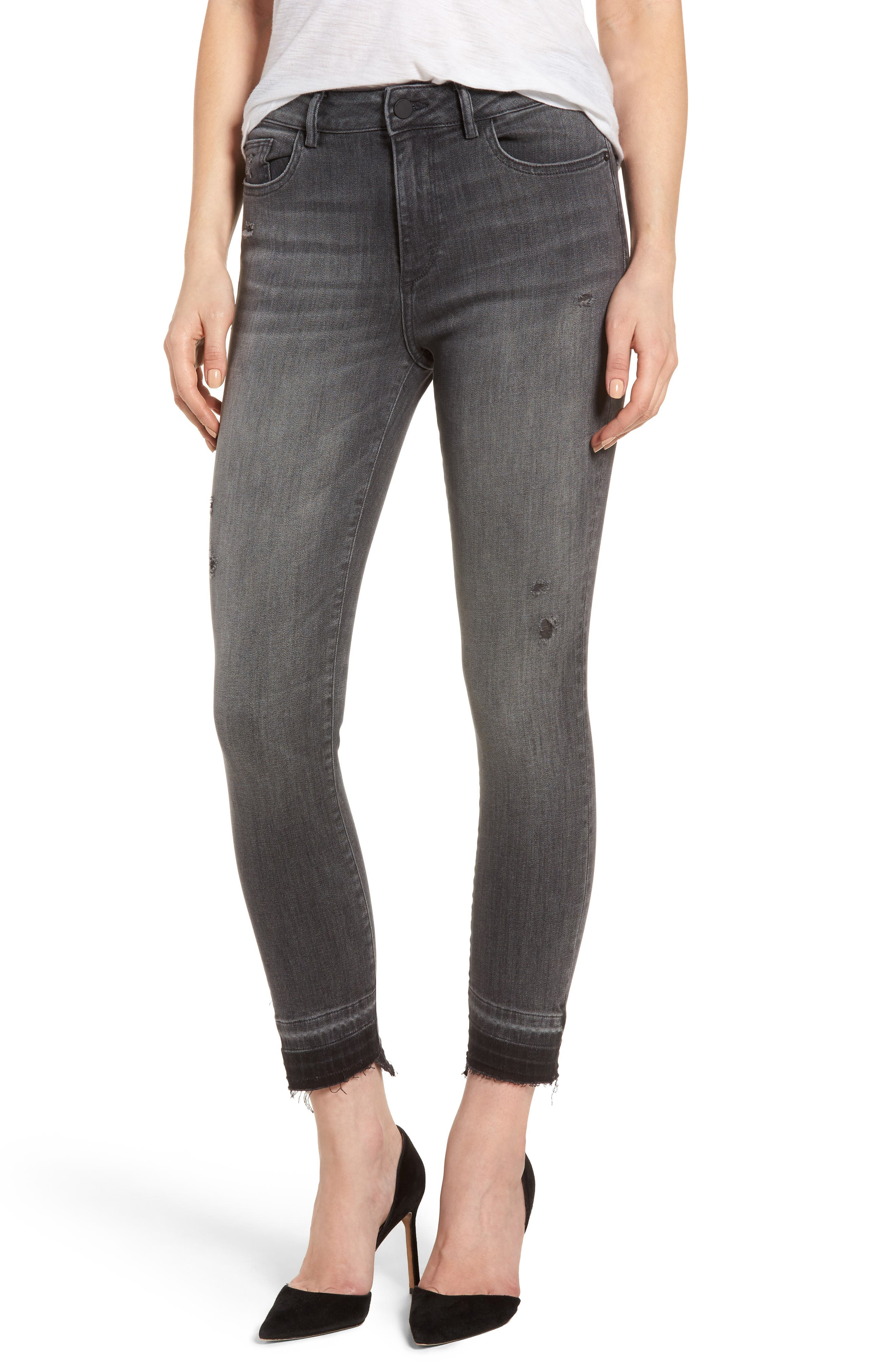DL1961 Farrow High Waist Instaslim Skinny Jeans (Whitney)