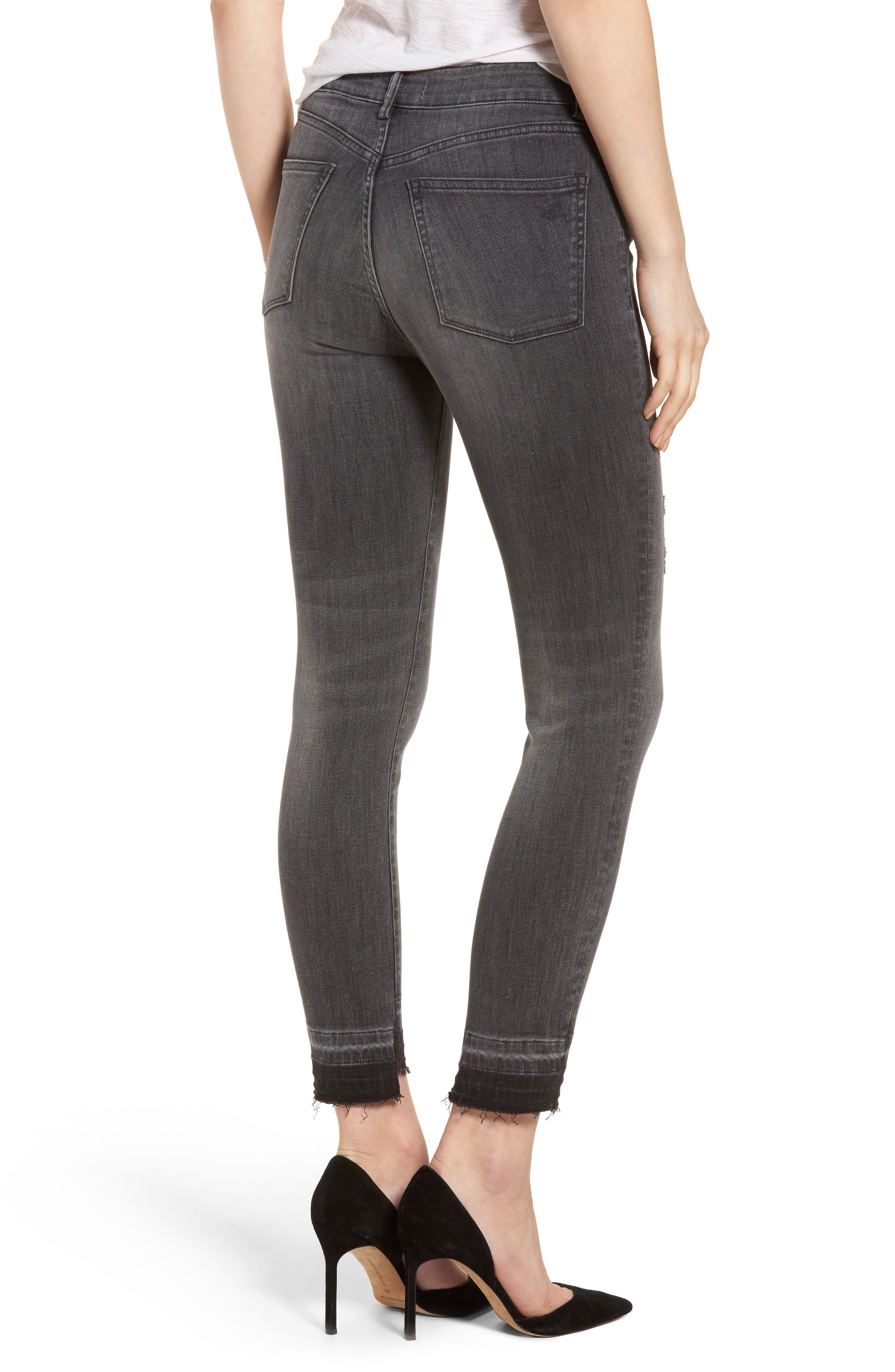 Farrow High Waist Instaslim Skinny Jeans,                             Alternate thumbnail 2, color,                             Whitney
