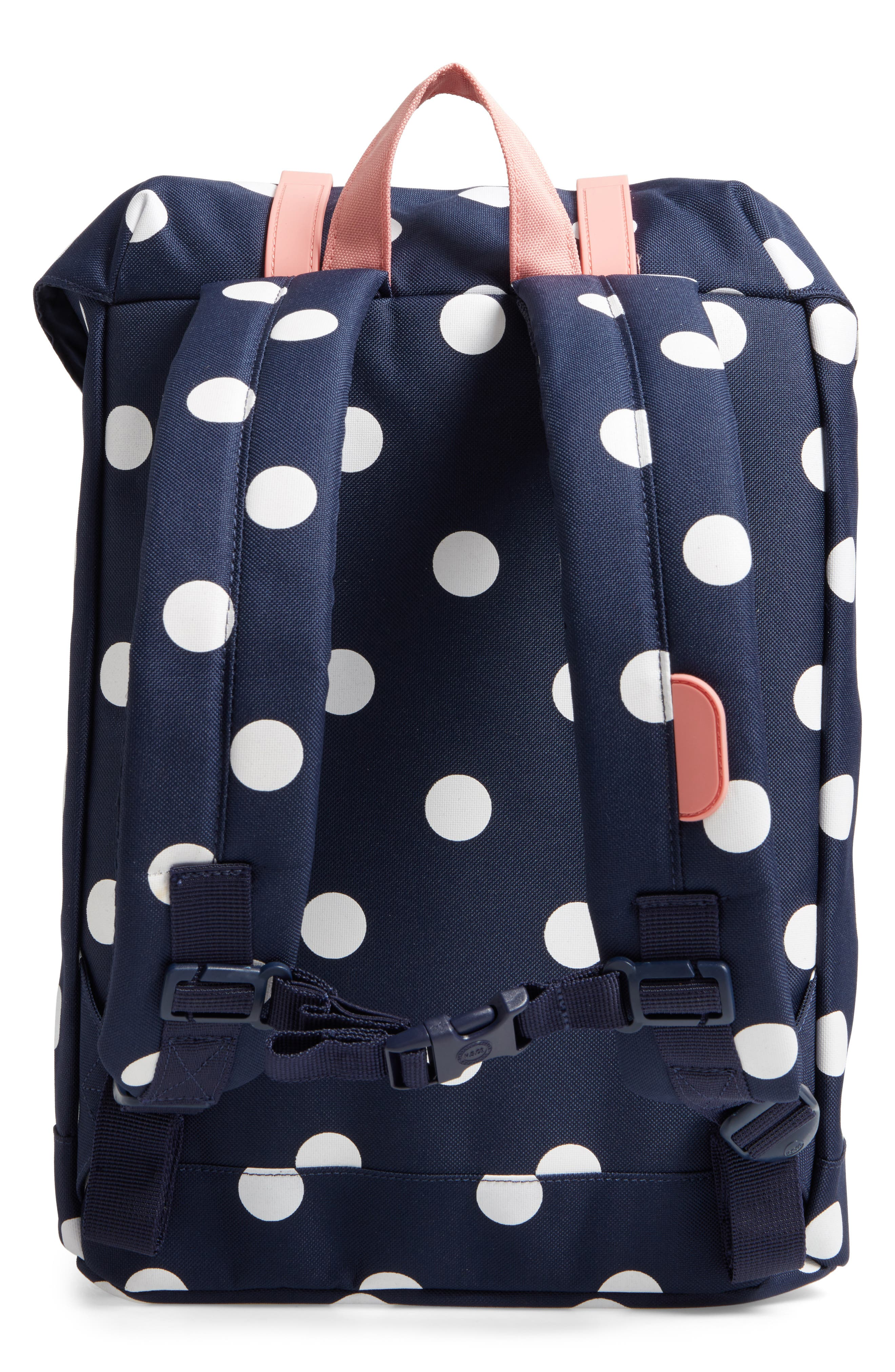 Retreat Backpack,                             Alternate thumbnail 2, color,                             Polka Dot/ Strawberry