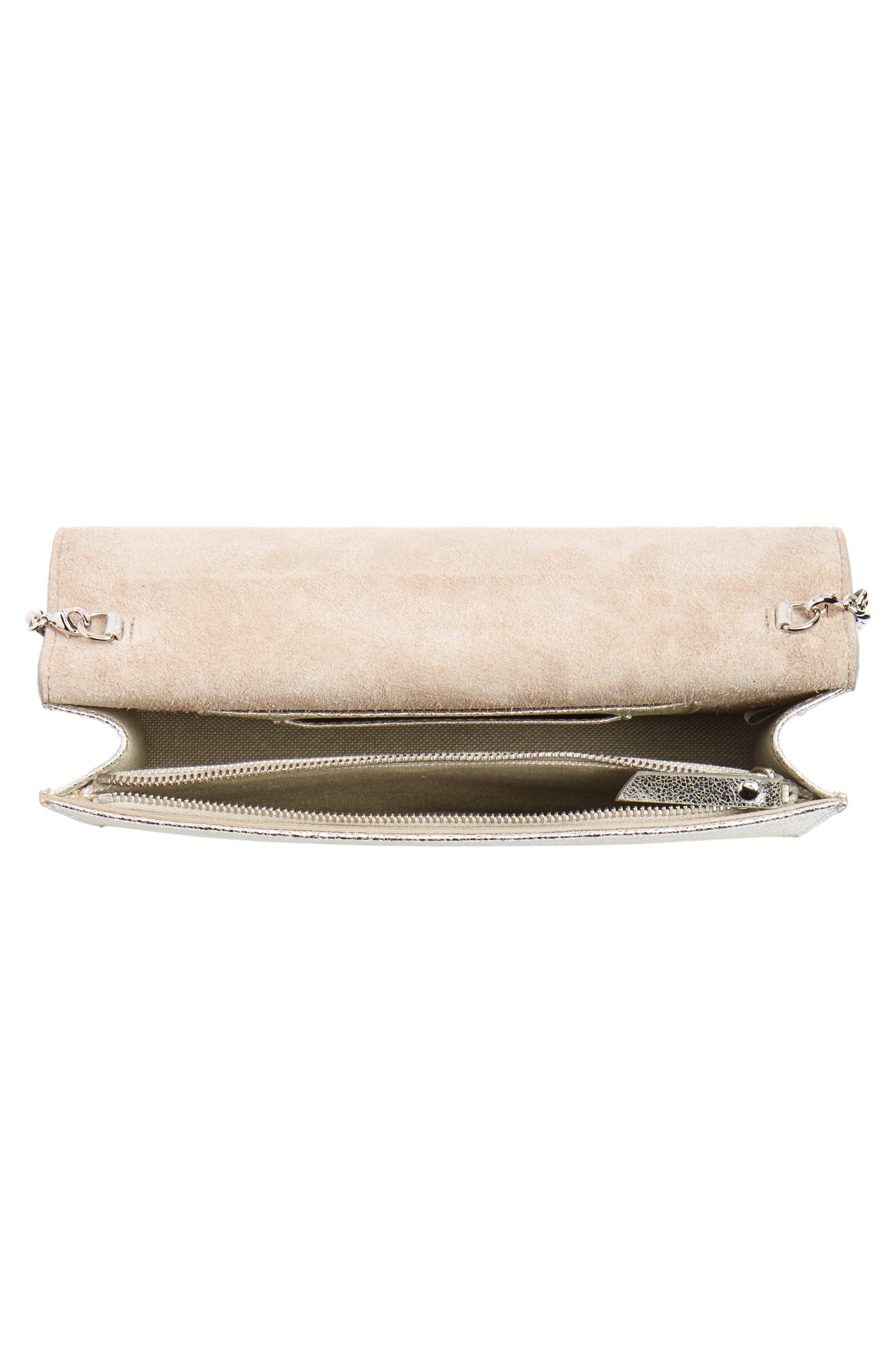 Alternate Image 4  - Jimmy Choo Sky Leather Crossbody Bag