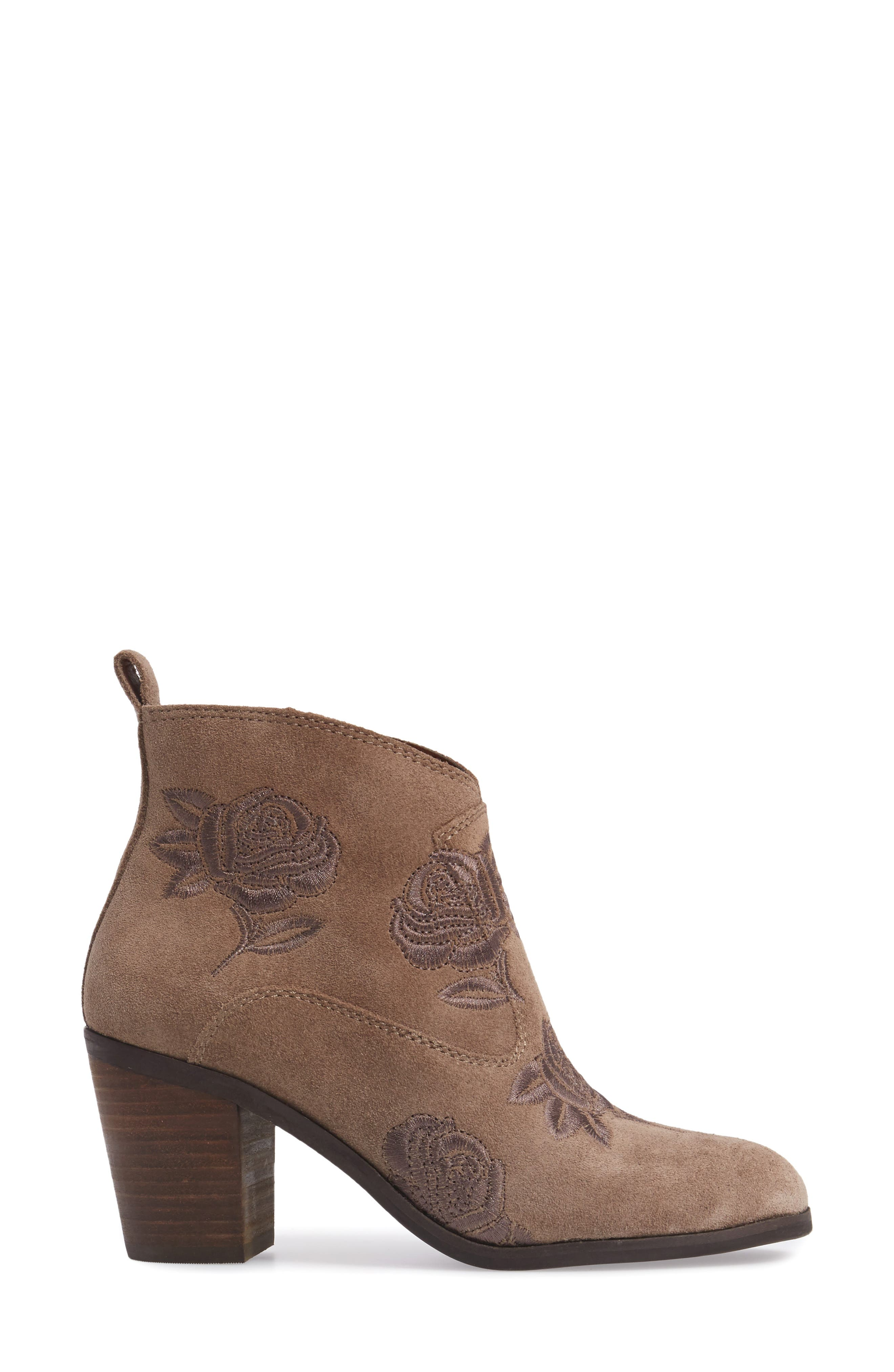 Alternate Image 3  - Lucky Brand Pexton Embroidered Bootie (Women)