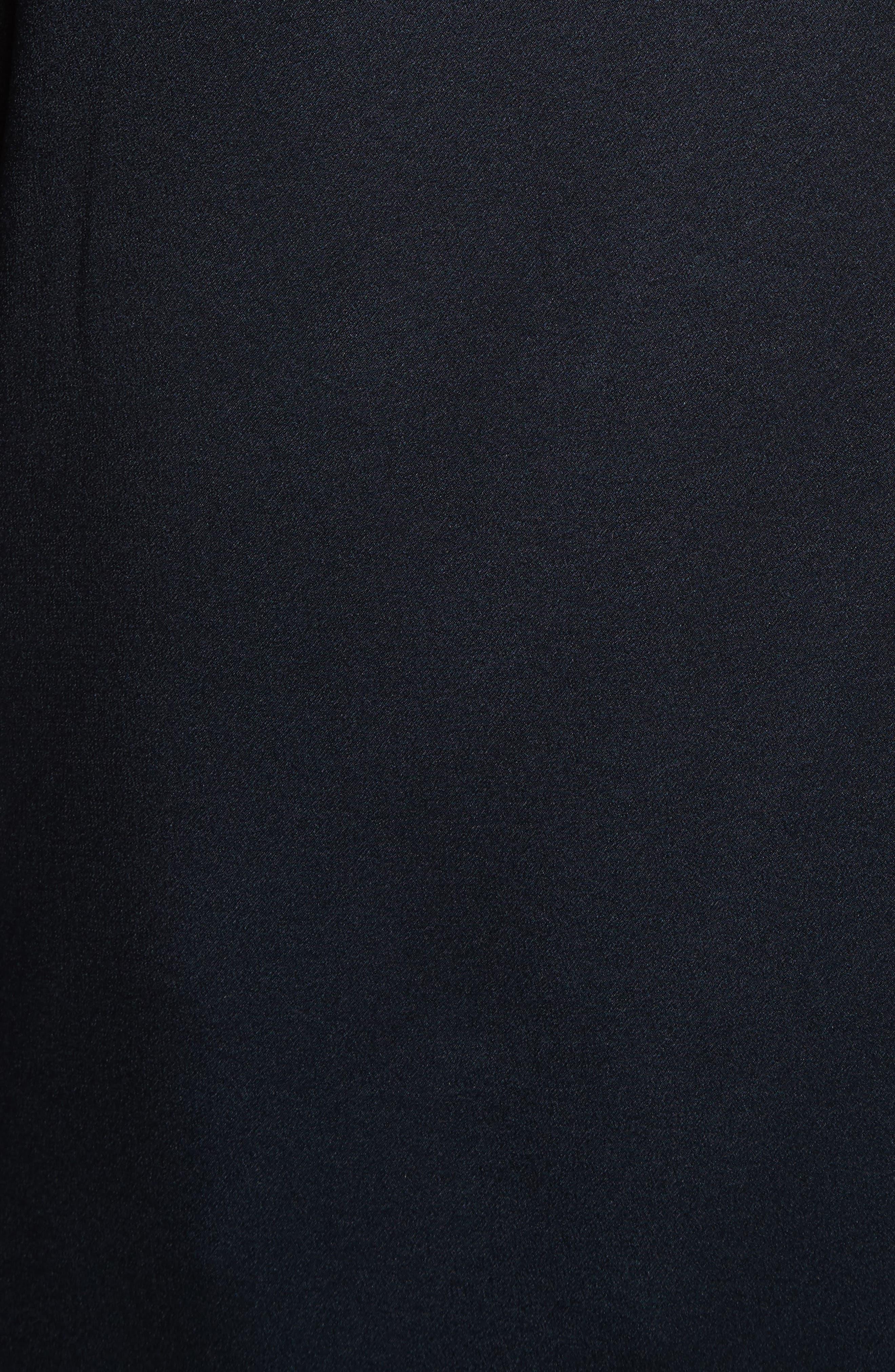 Alternate Image 6  - Vince Band Collar Silk Blouse