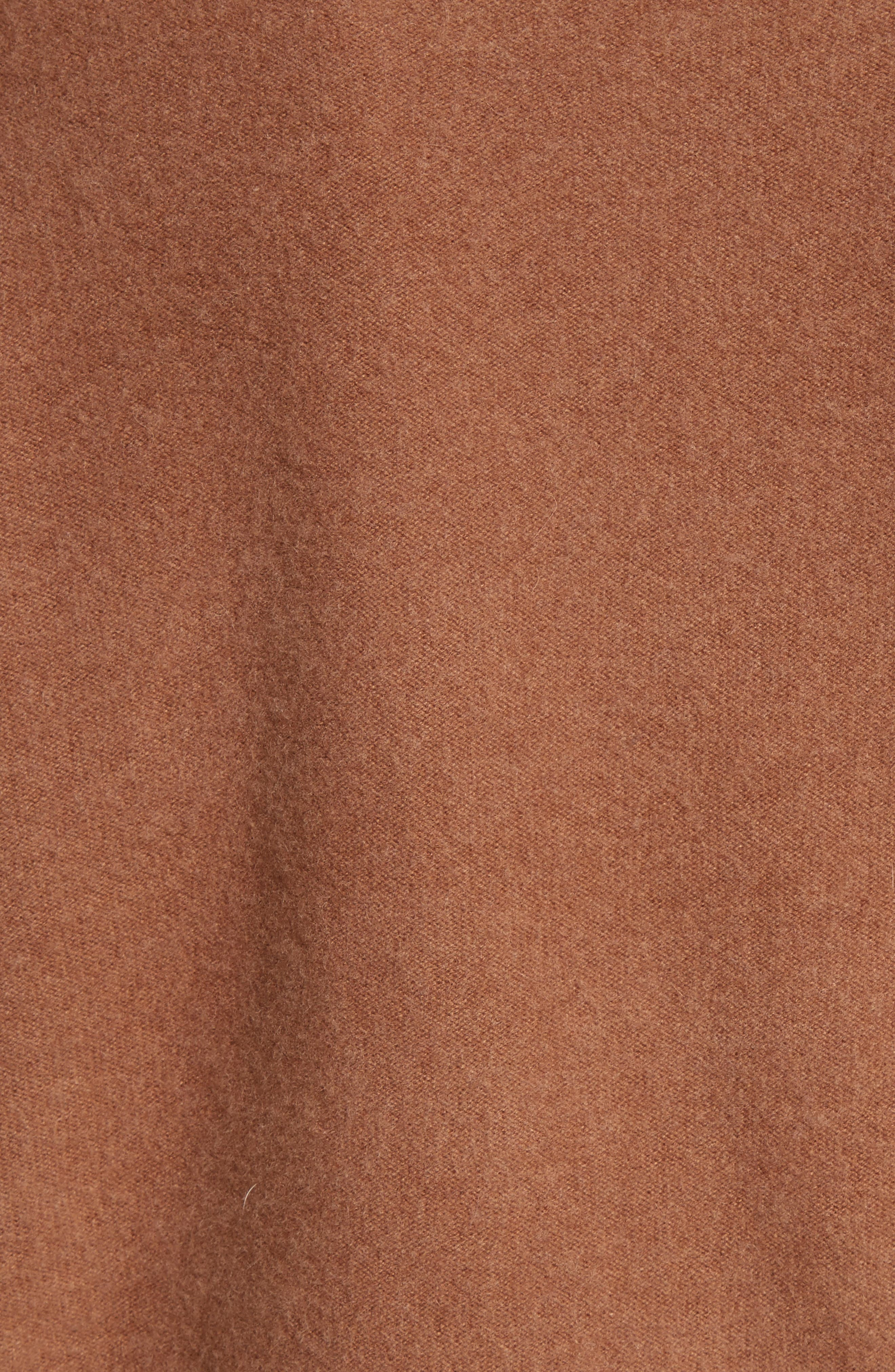Boat Neck Cashmere Pullover,                             Alternate thumbnail 5, color,                             Ginger