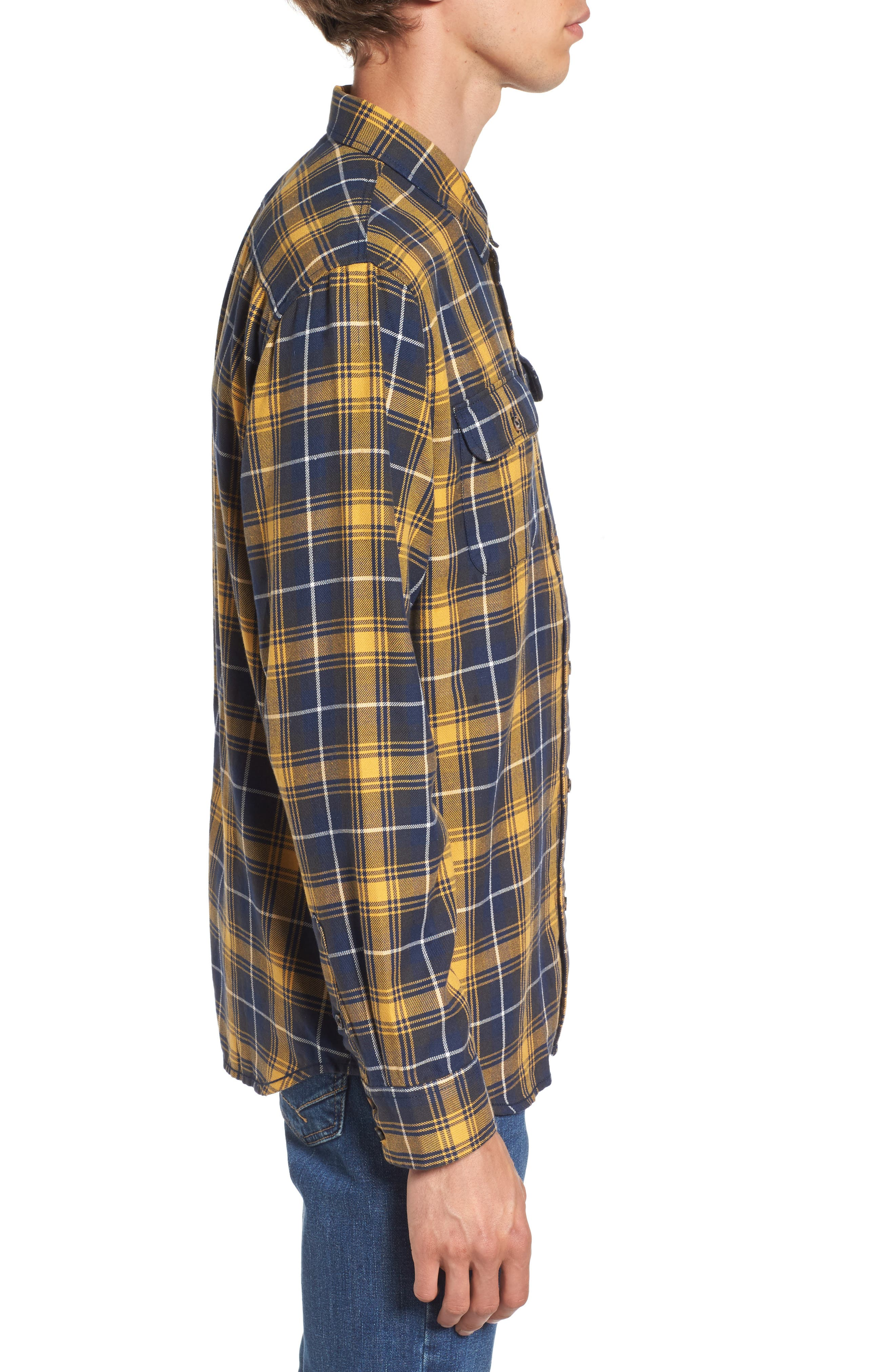 Alternate Image 3  - Vans Sycamore Plaid Flannel Sport Shirt