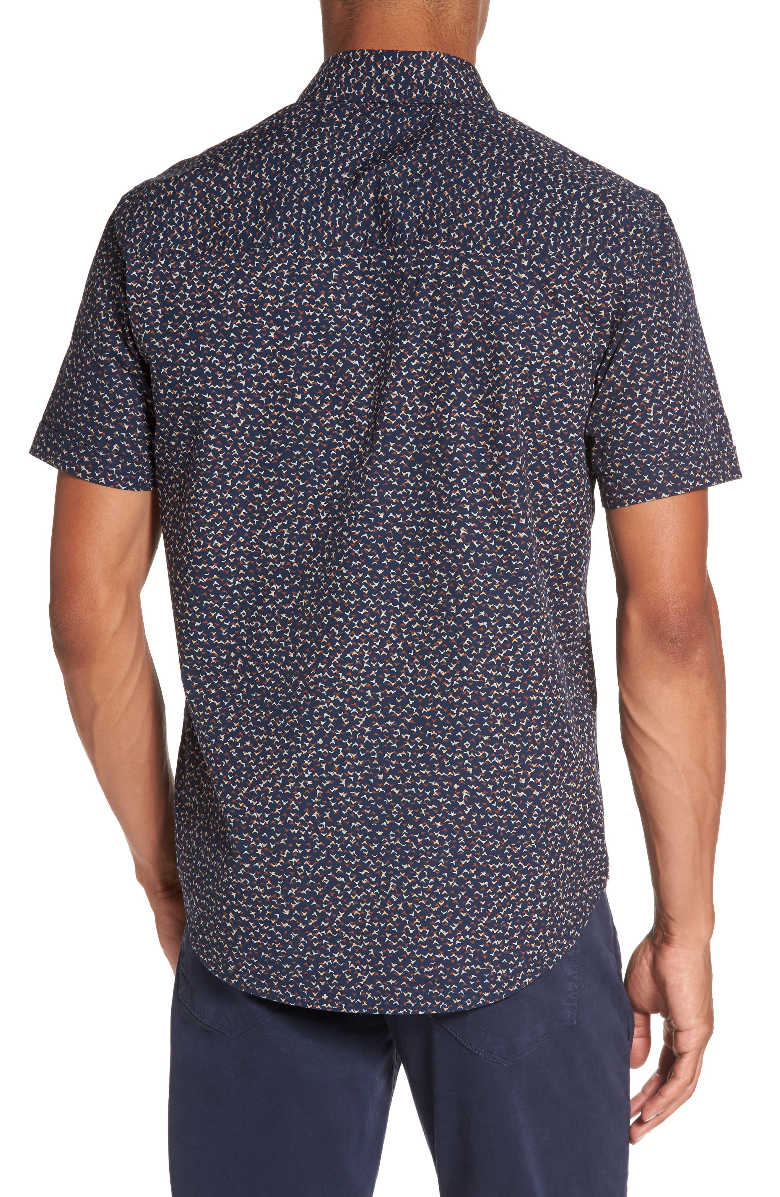 Alternate Image 2  - PAIGE Becker Patterned Woven Shirt