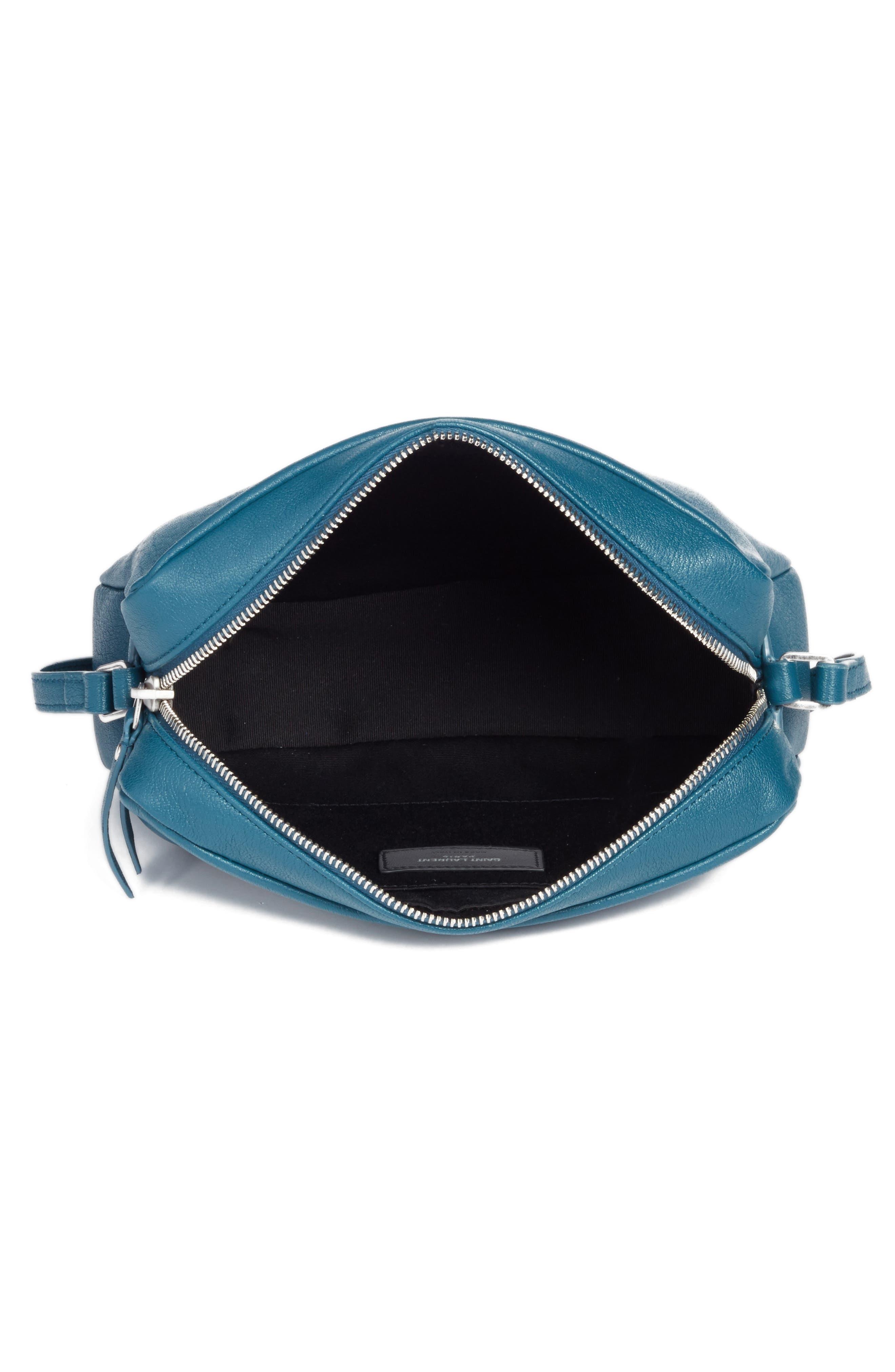 Alternate Image 3  - Saint Laurent Small Mono Leather Camera Bag