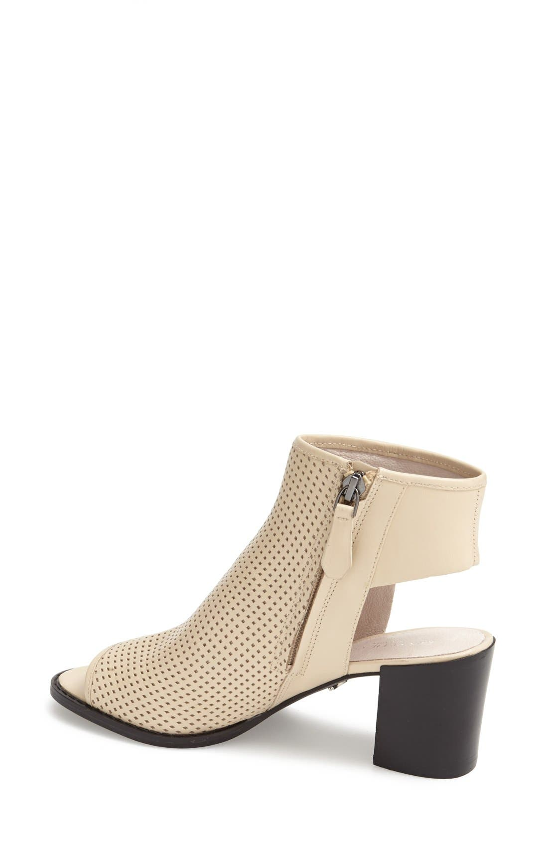 Alternate Image 2  - Kenneth Cole New York 'Shay' Open Toe Perforated Leather Bootie (Women)