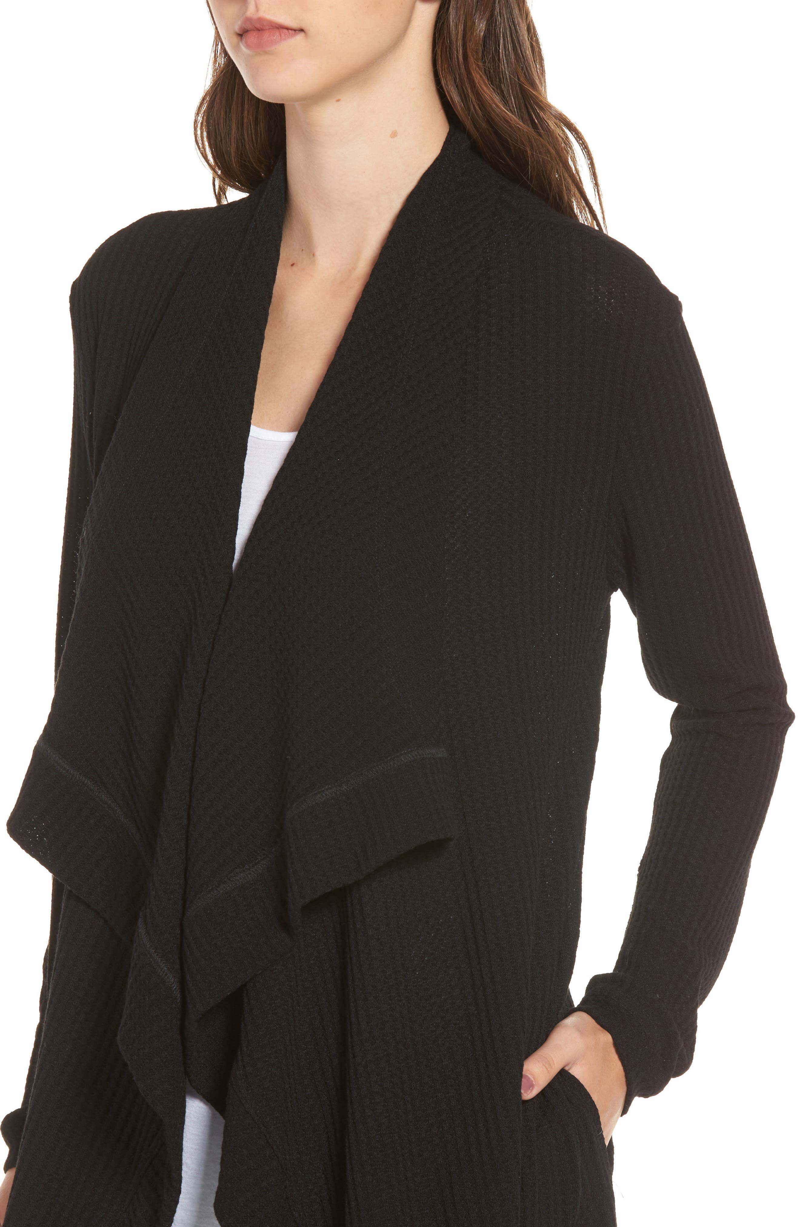 Alternate Image 4  - 4SI3NNA Open Front Cardigan