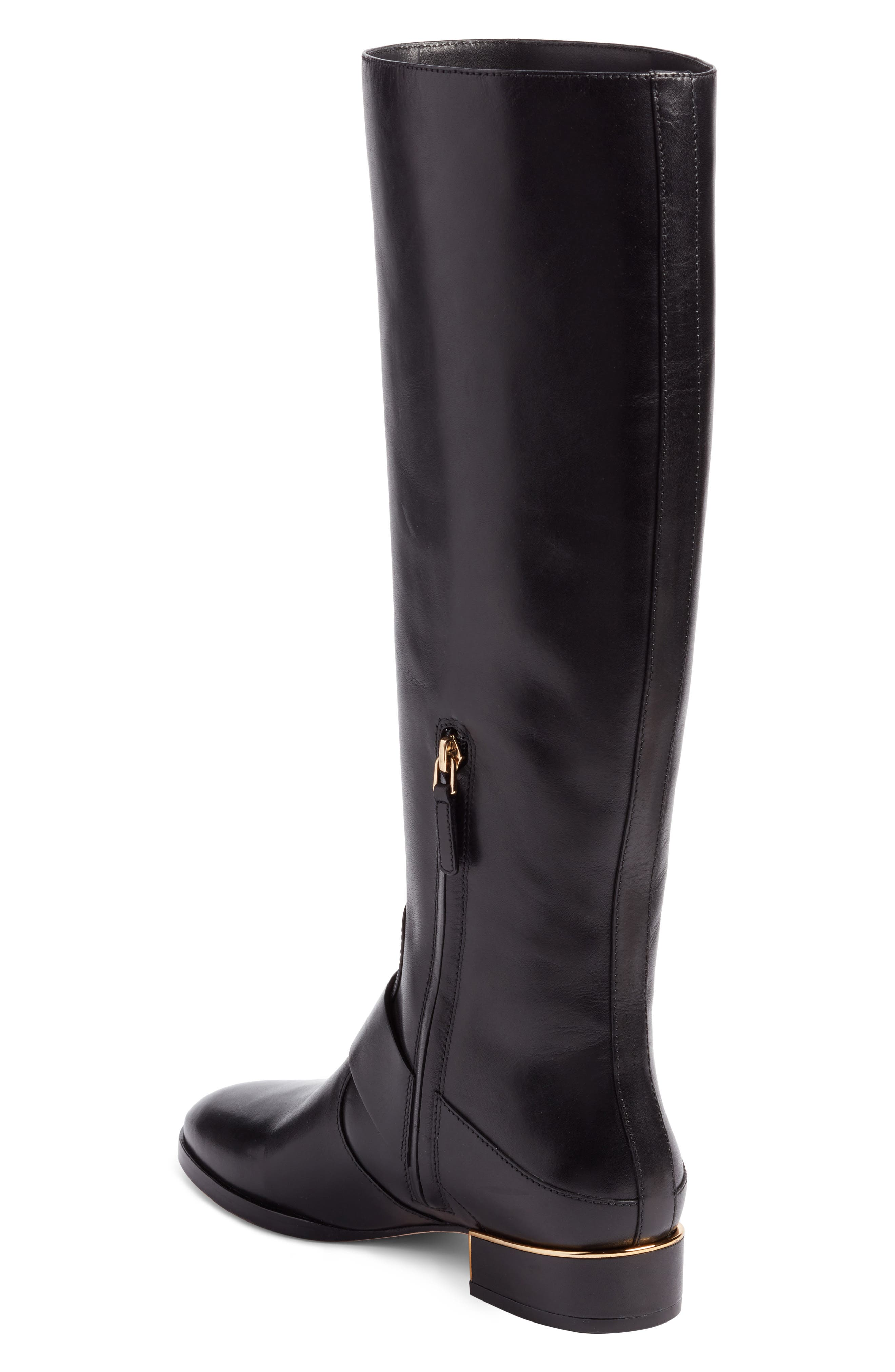 Alternate Image 2  - Tory Burch Sofia Buckled Riding Boot (Women) (Regular & Wide Calf)