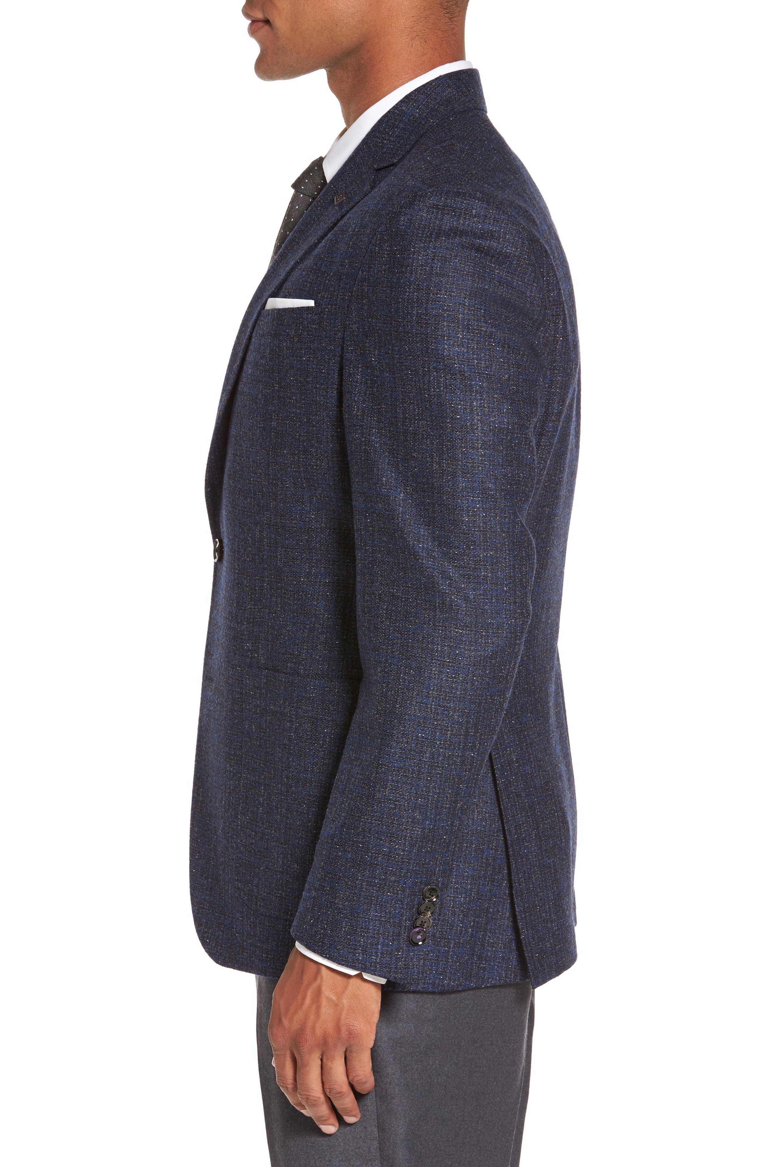 Alternate Image 3  - Ted Baker London Kyle Trim Fit Wool Blend Blazer