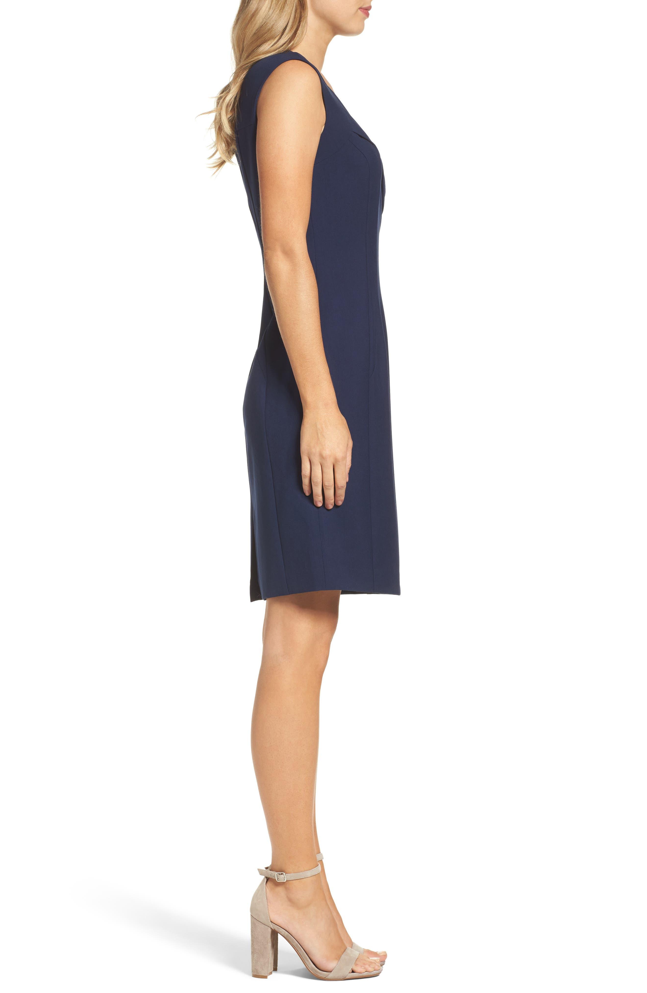 Alternate Image 3  - Ellen Tracy Sheath Dress