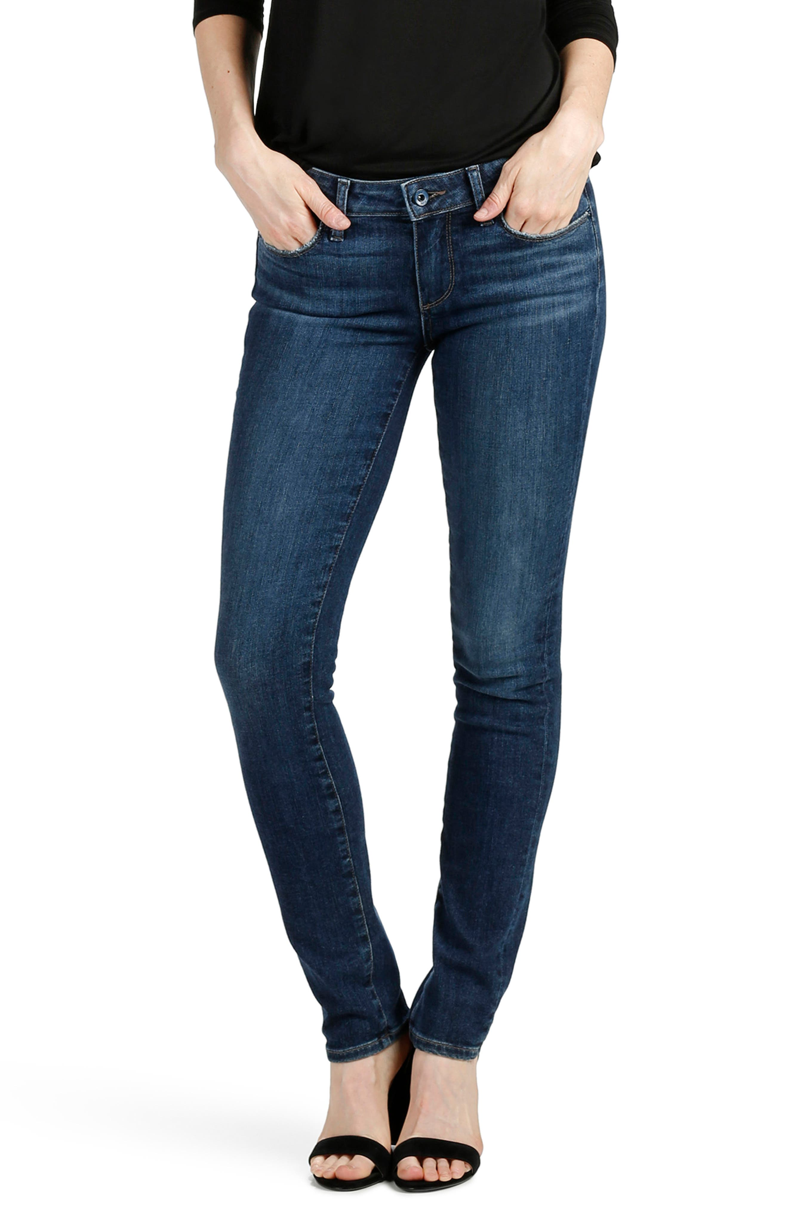 Transcend - Skyline Skinny Jeans,                             Alternate thumbnail 3, color,                             Percy