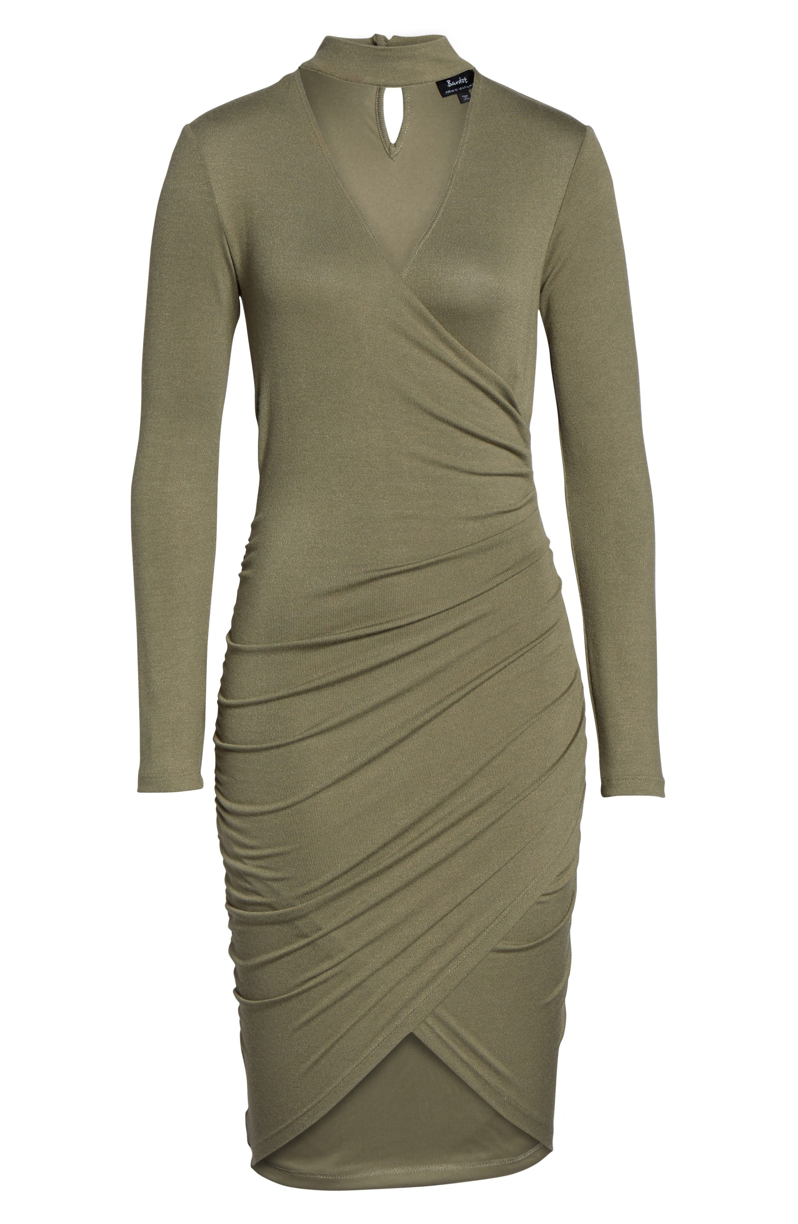 Alternate Image 6  - Bardot Alex Body-Con Dress