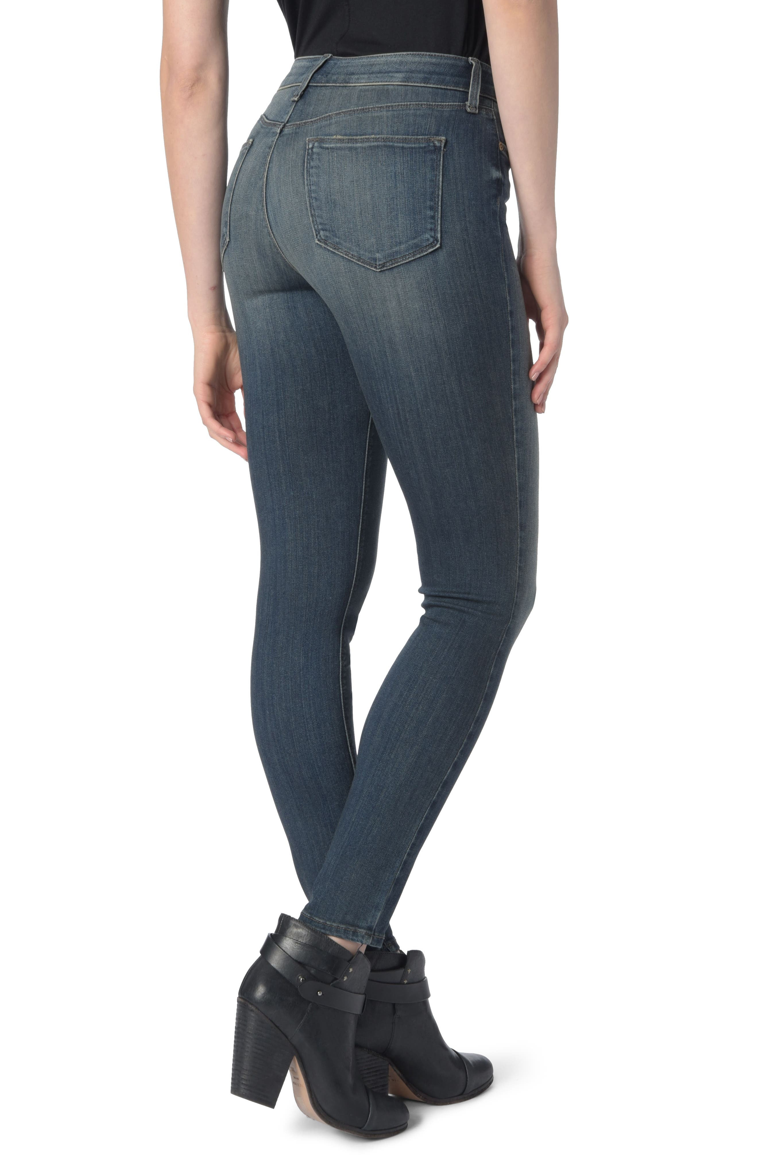 Alternate Image 2  - NYDJ Dylan Skinny Ankle Jeans (Axiom)