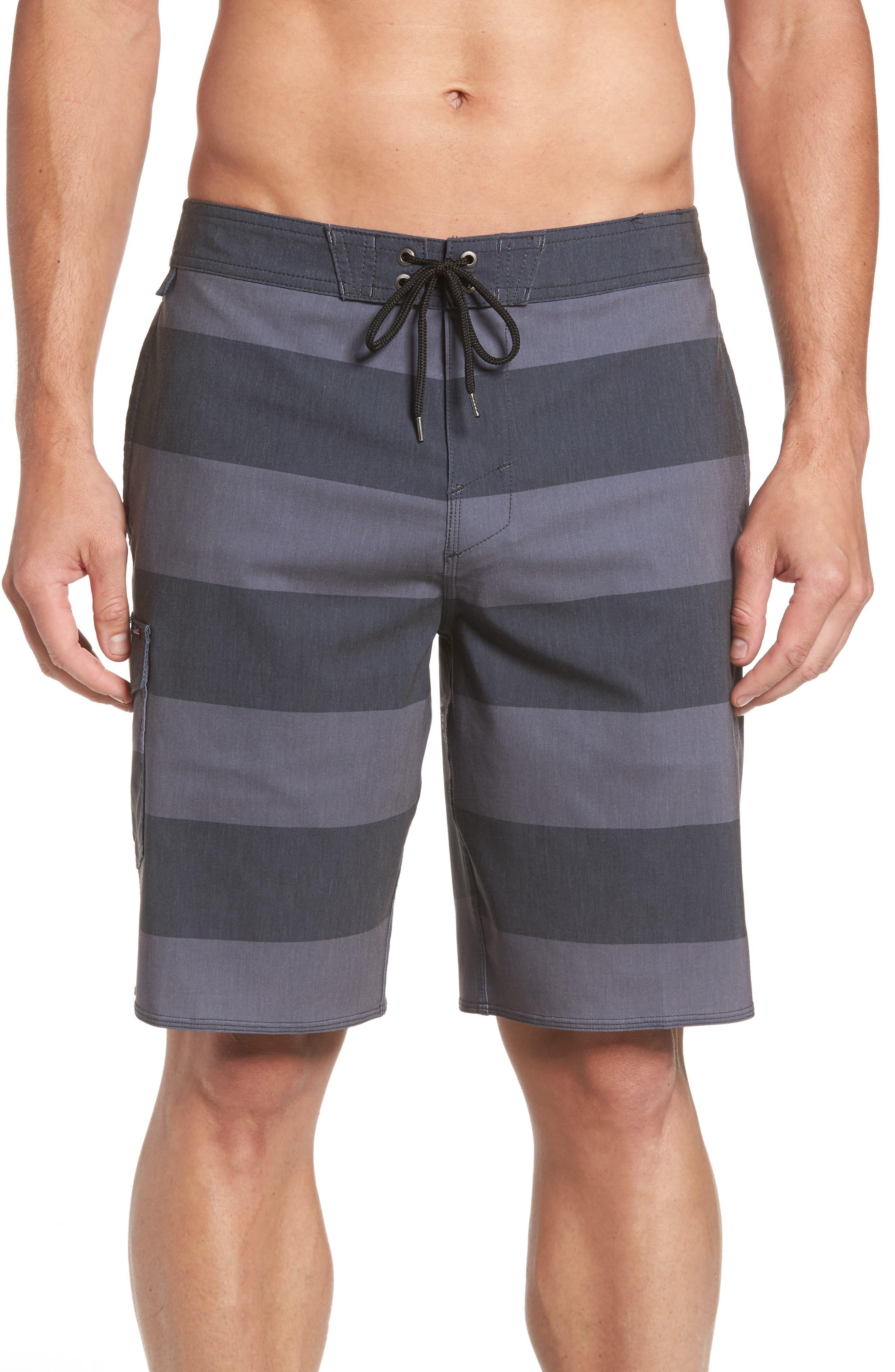 Homage Board Shorts,                         Main,                         color, Black